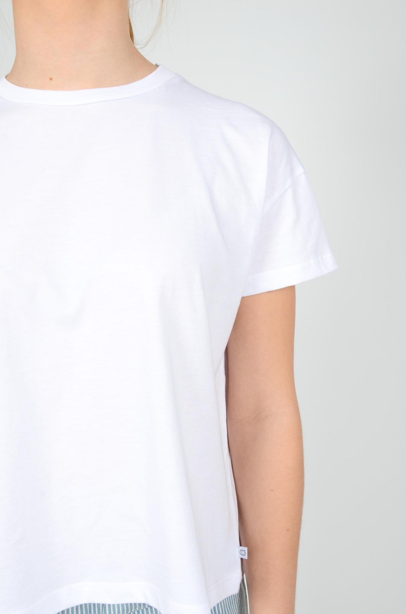 BASIC TEE IN WHITE-4