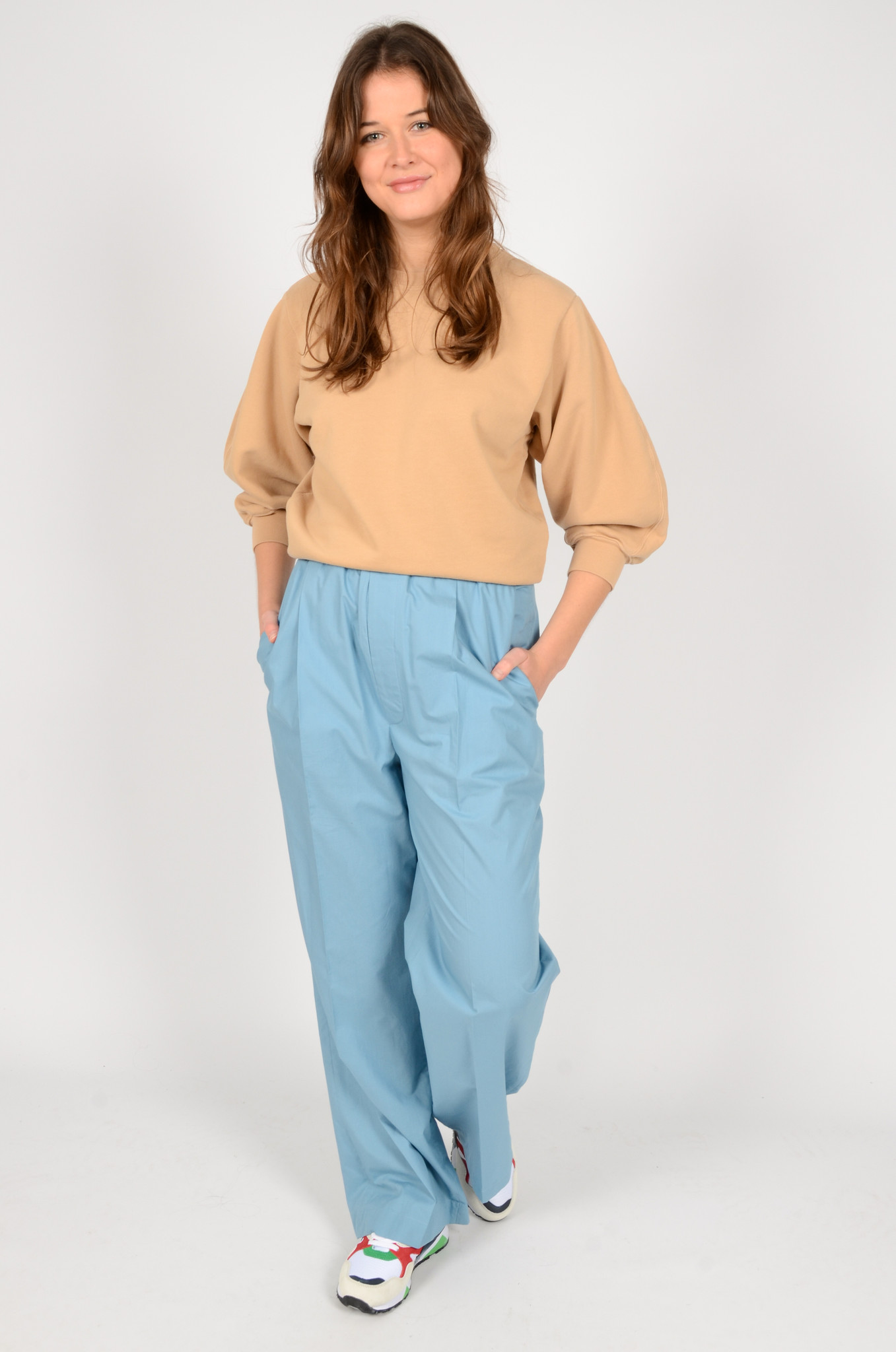 NORMA TROUSERS IN BLUE-6