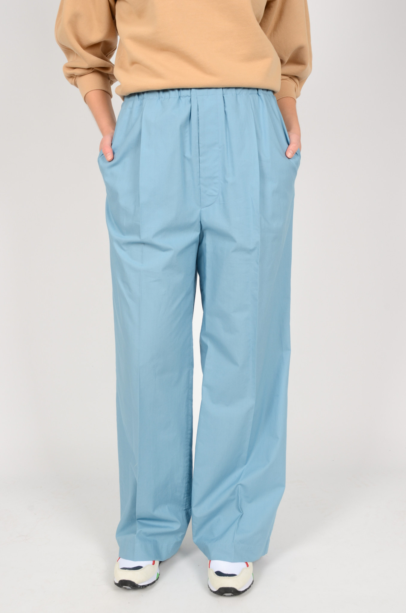 NORMA TROUSERS IN BLUE-2