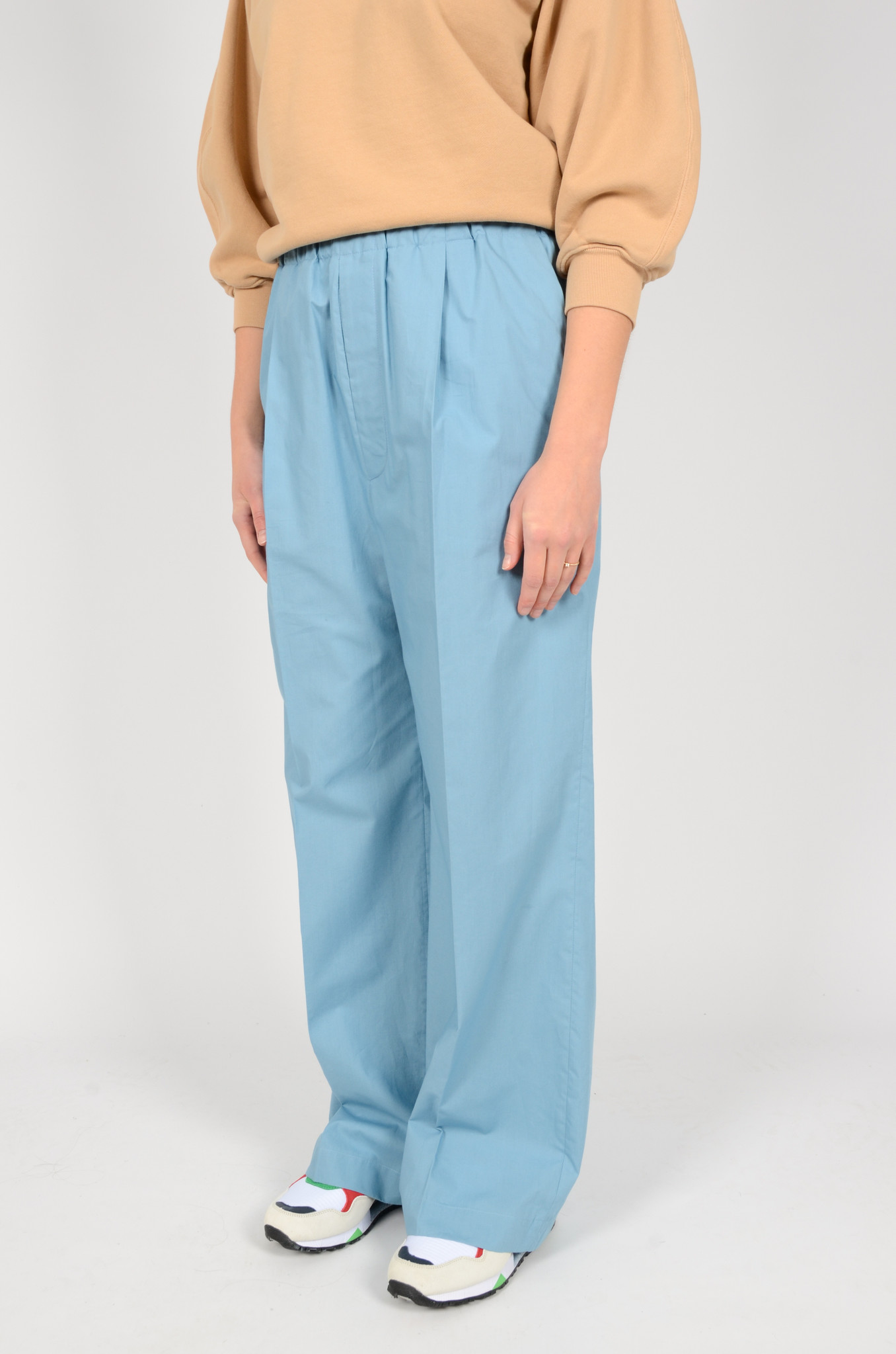 NORMA TROUSERS IN BLUE-3