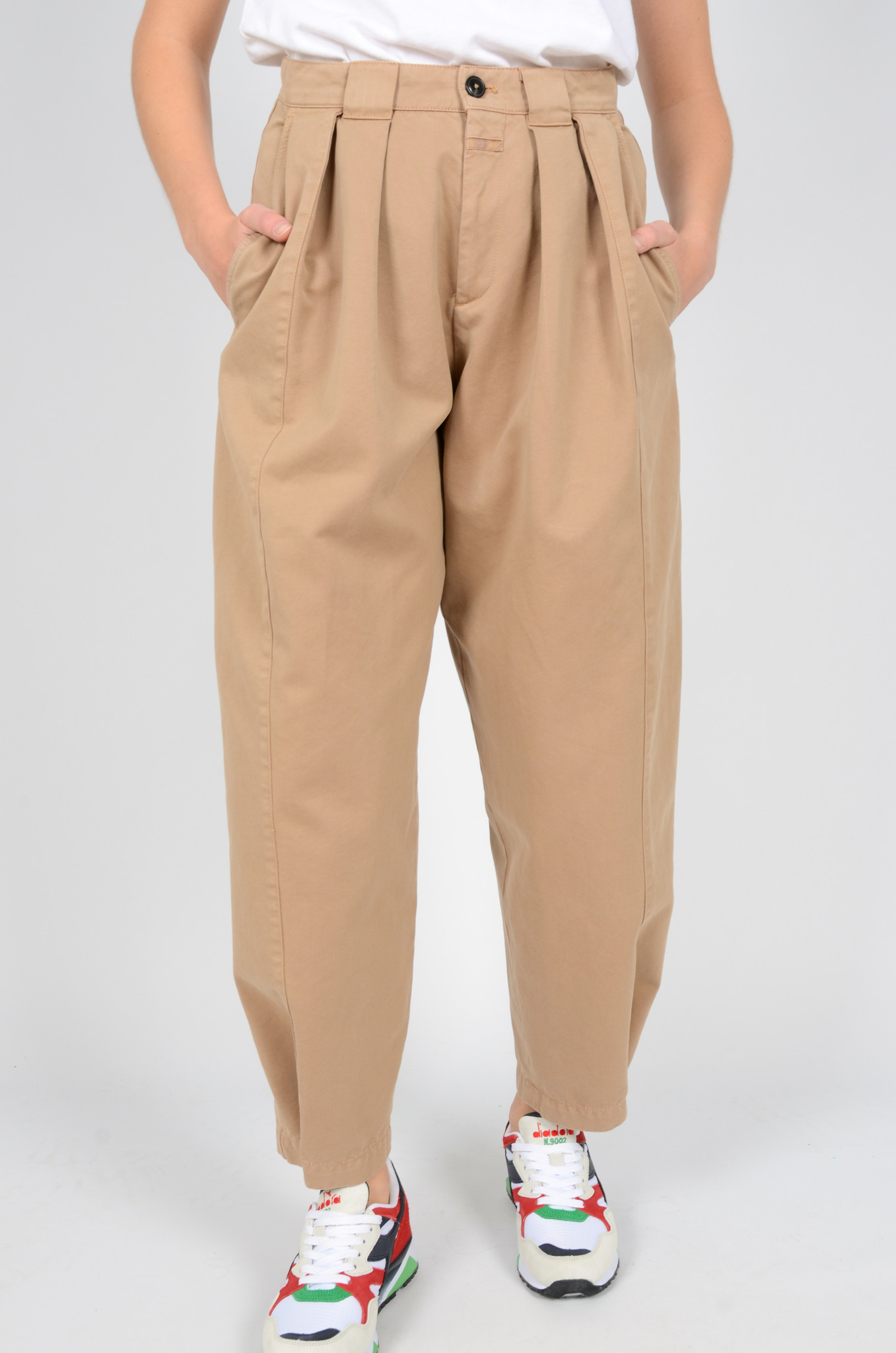 IVO PLEATED TROUSERS-2