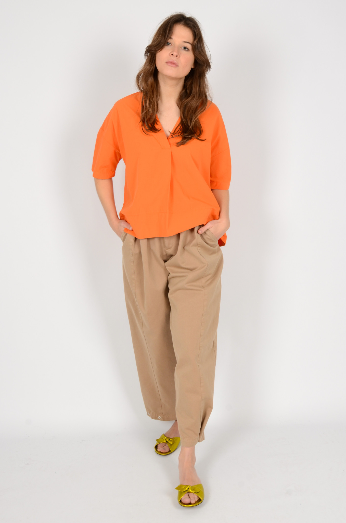 IVO PLEATED TROUSERS-7