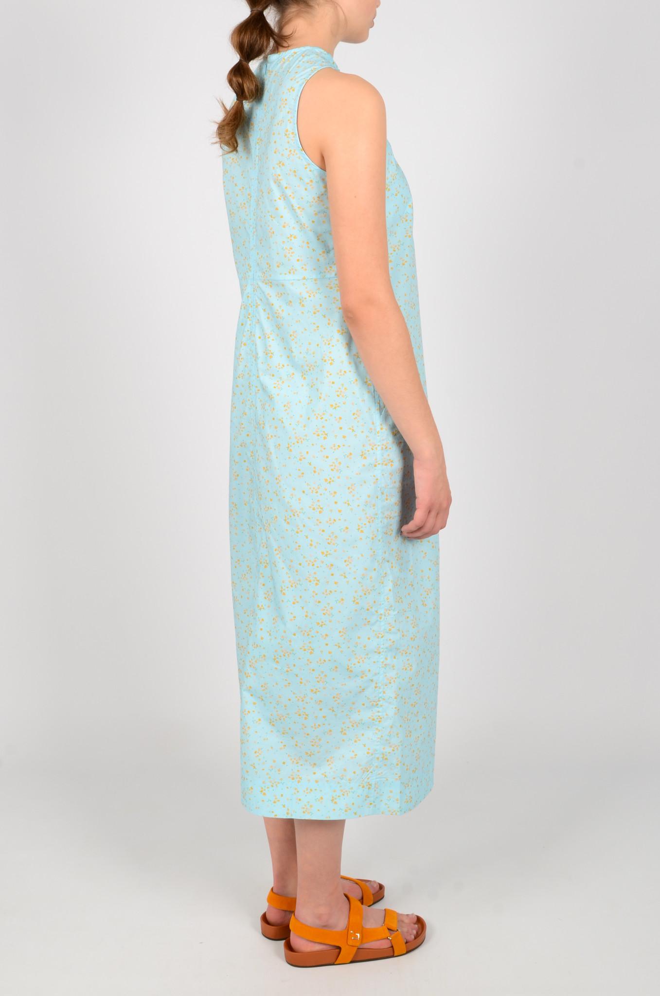 FLORAL HALTER NECK DRESS-4