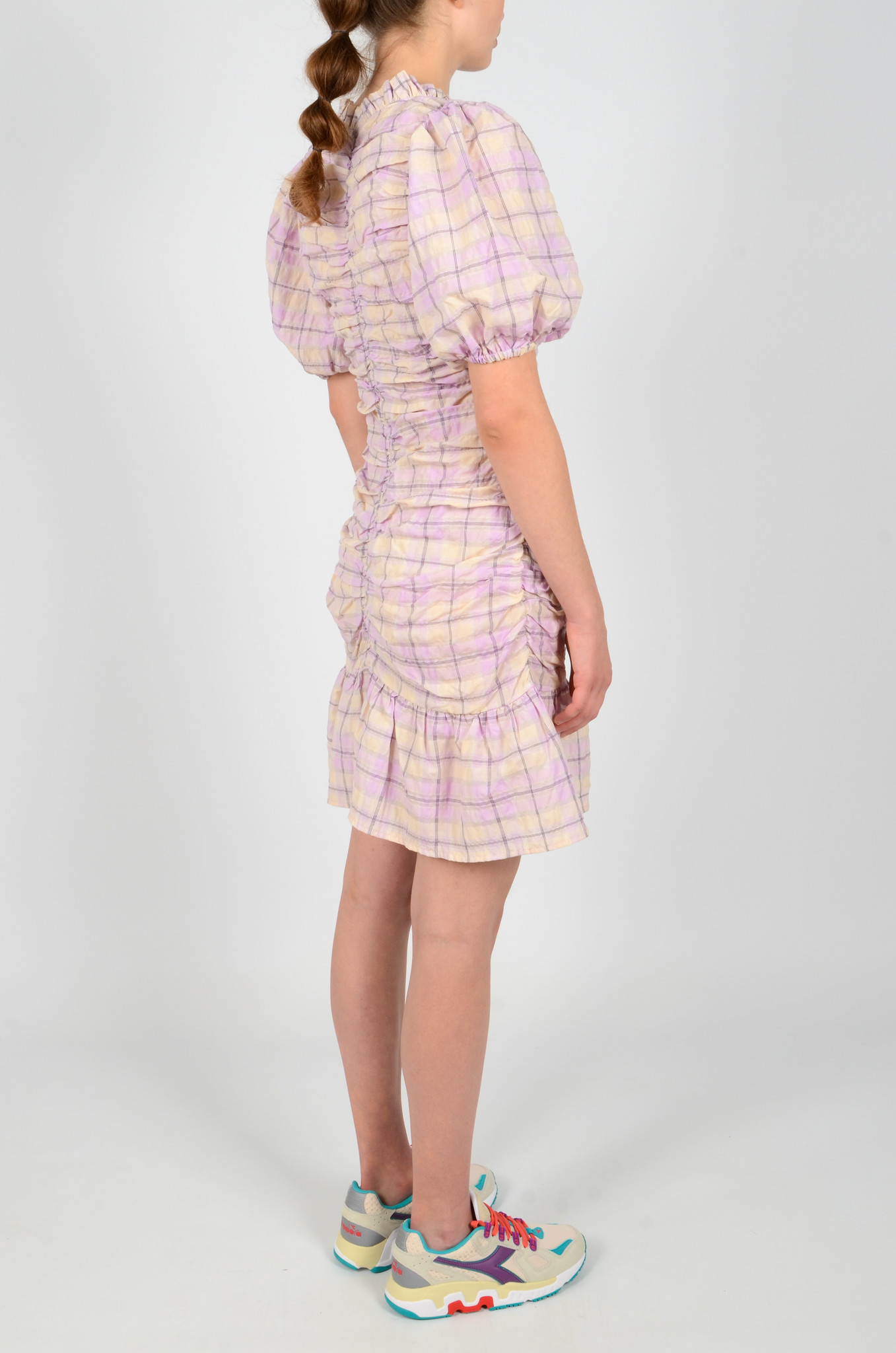 CHECKERED MADRAS DRESS-4