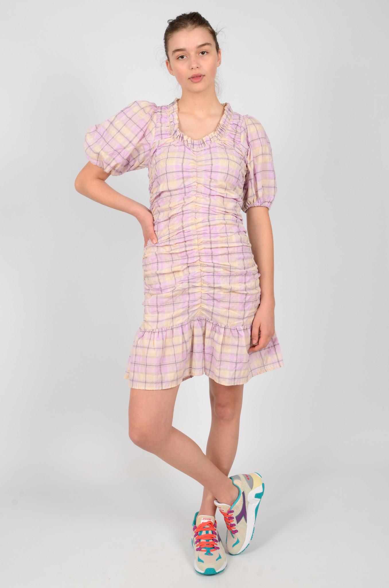 CHECKERED MADRAS DRESS-2