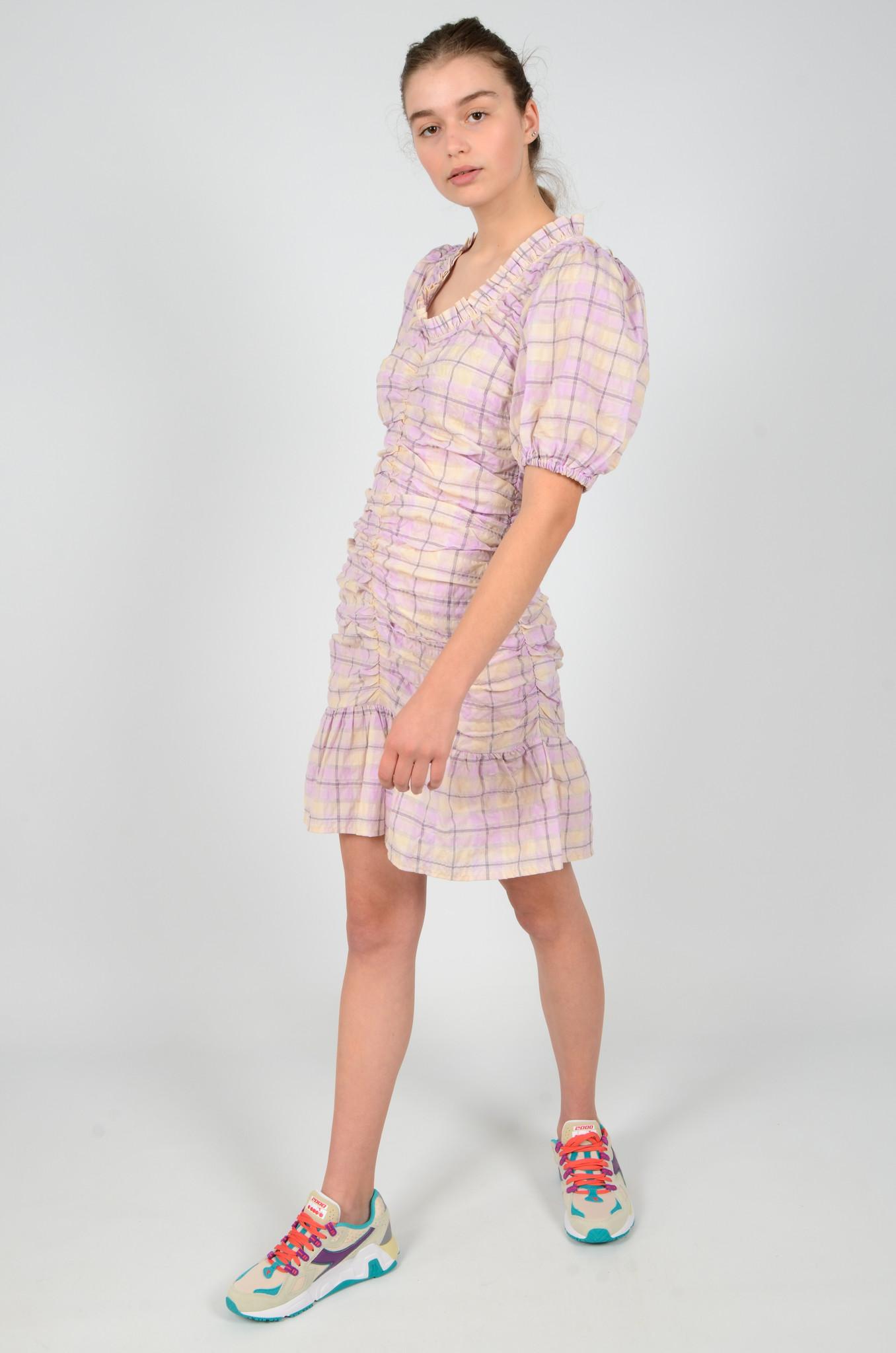 CHECKERED MADRAS DRESS-6