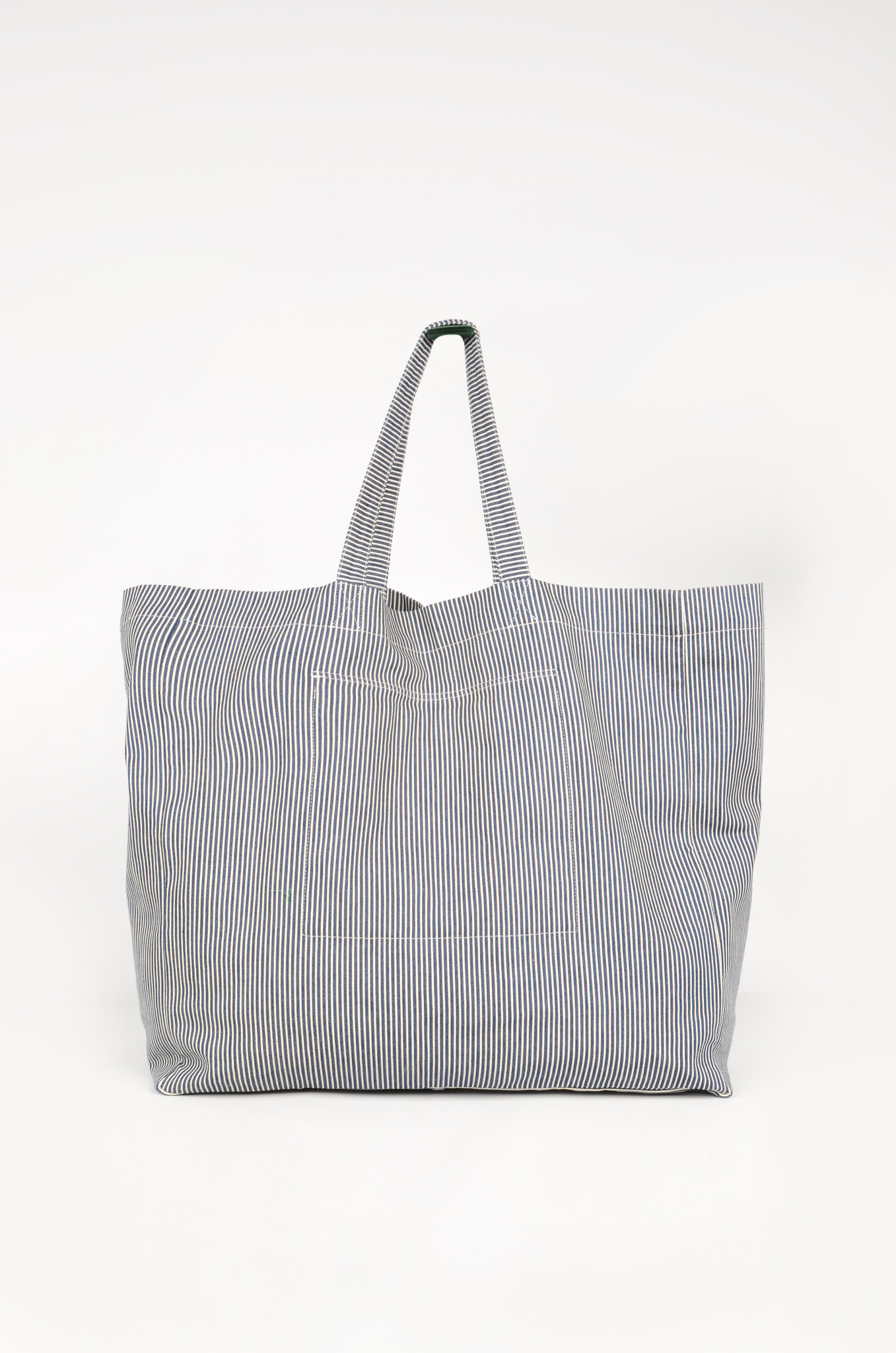 STRIPED DENIM BAG-3