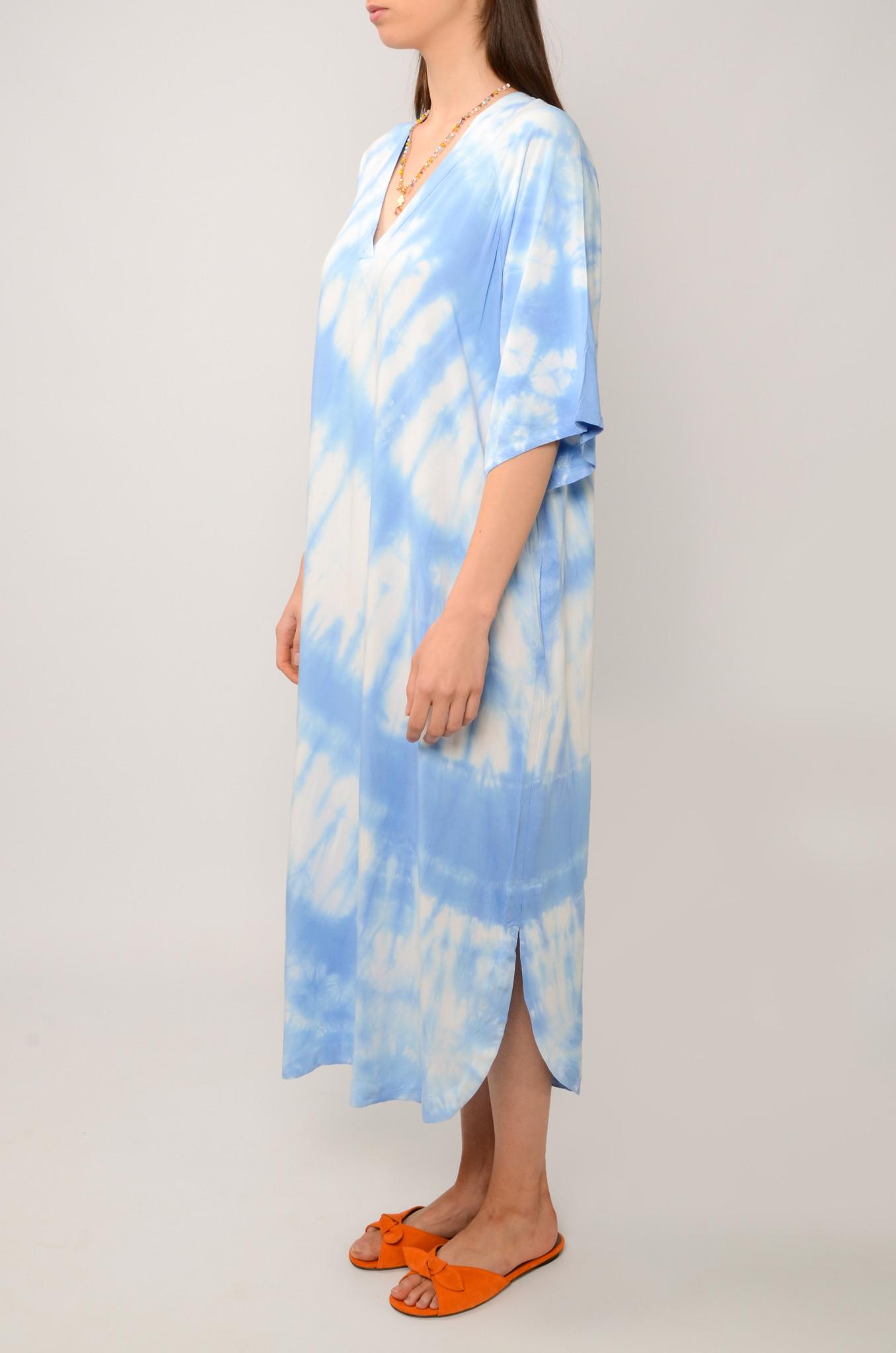 OCEAN BREEZE DRESS IN SKY BLUE-3
