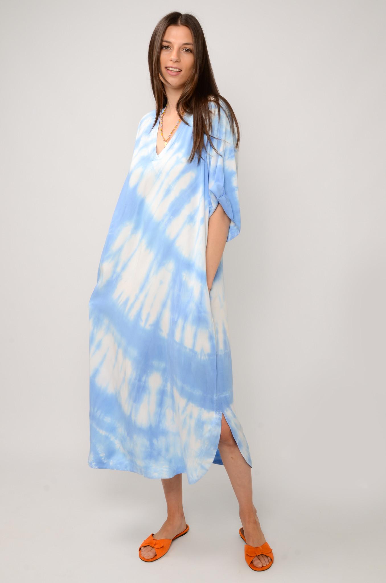 OCEAN BREEZE DRESS IN SKY BLUE-2