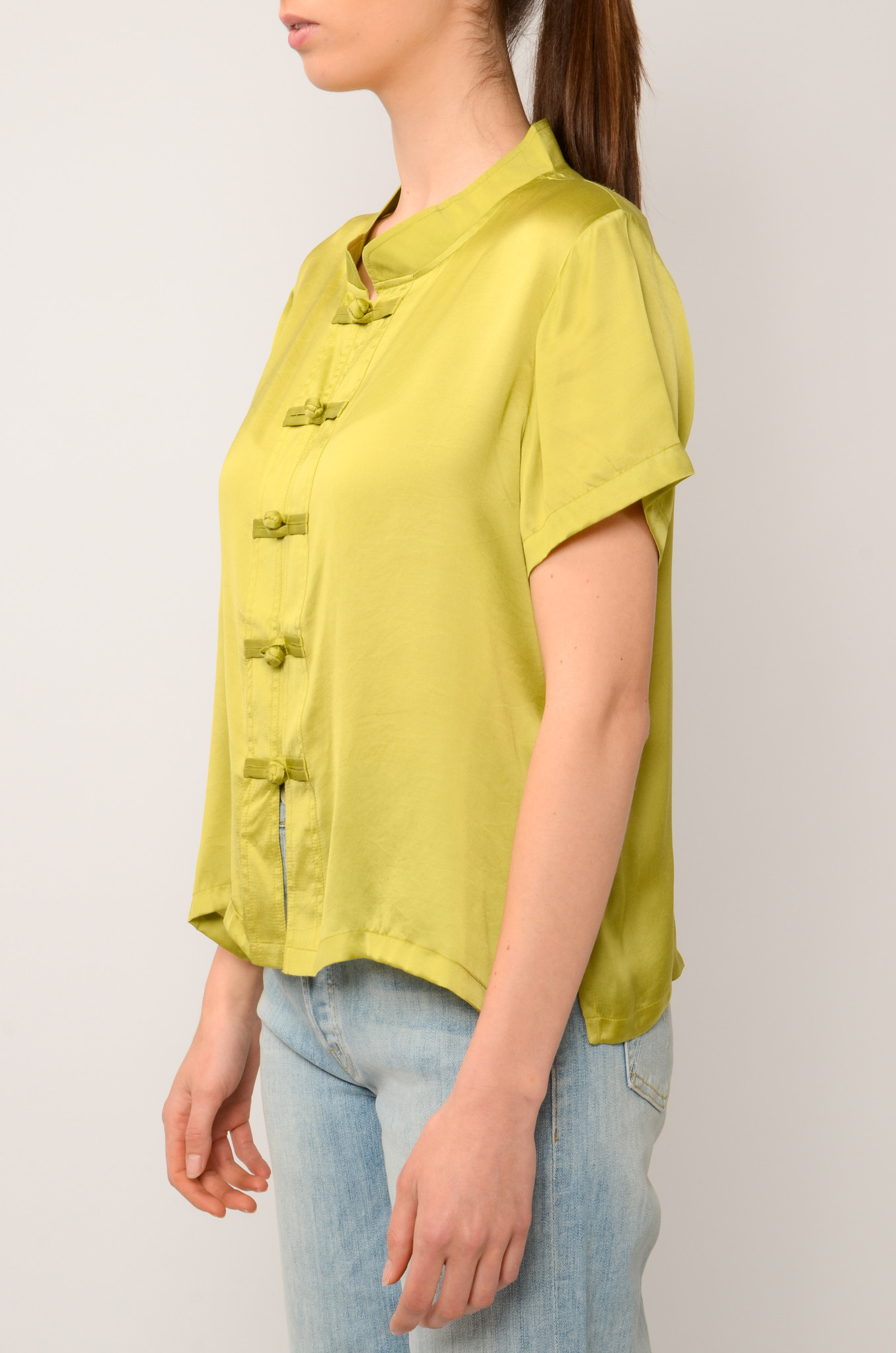 LOTUS TOP IN OLIVE-3