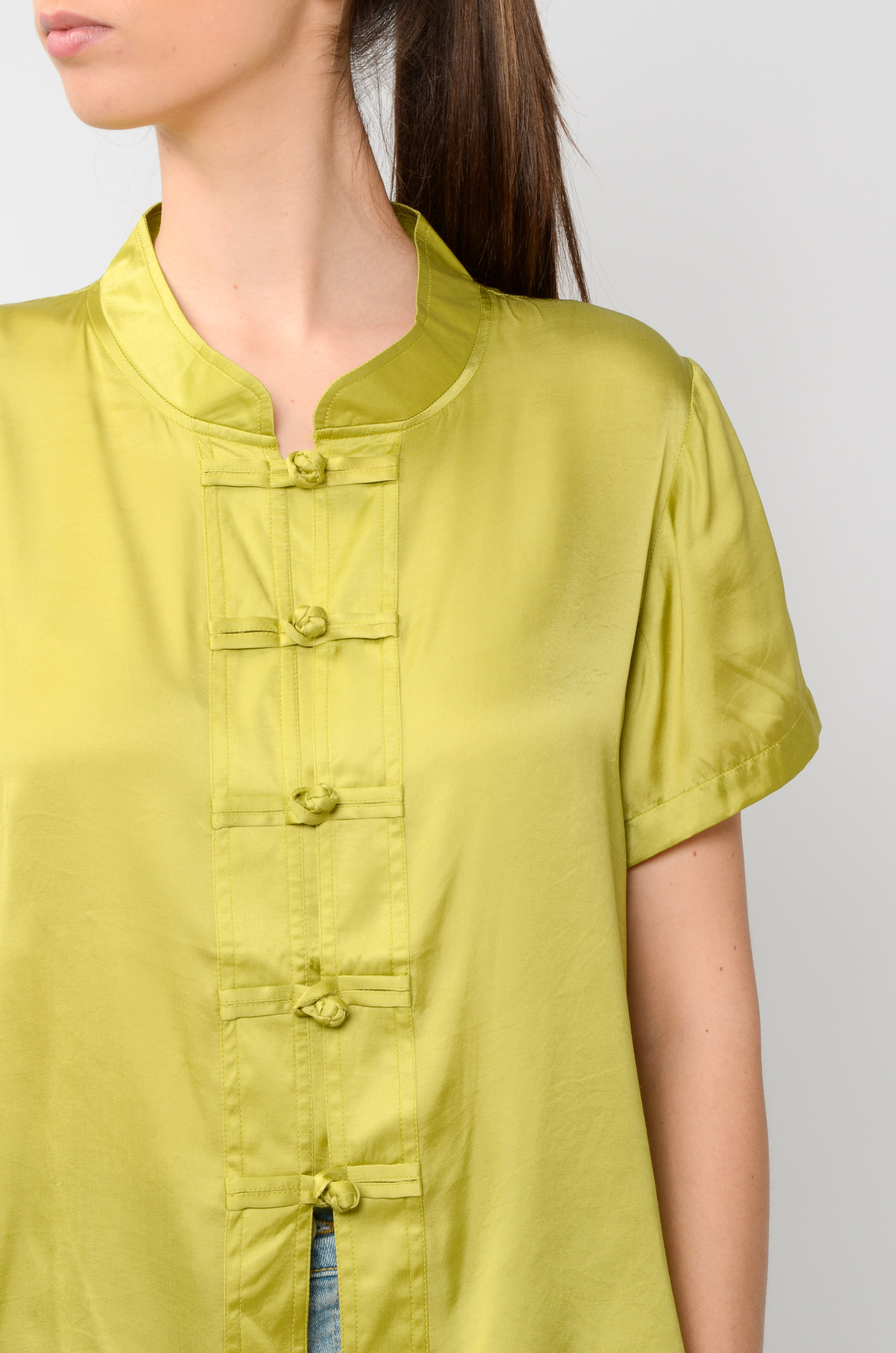 LOTUS TOP IN OLIVE-5