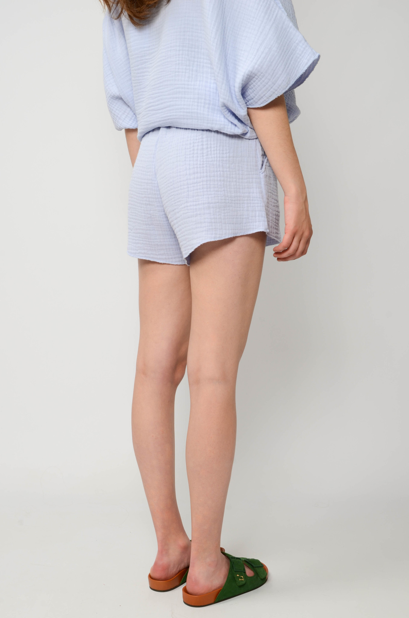 DATAI SHORTS IN ICE BLUE-4