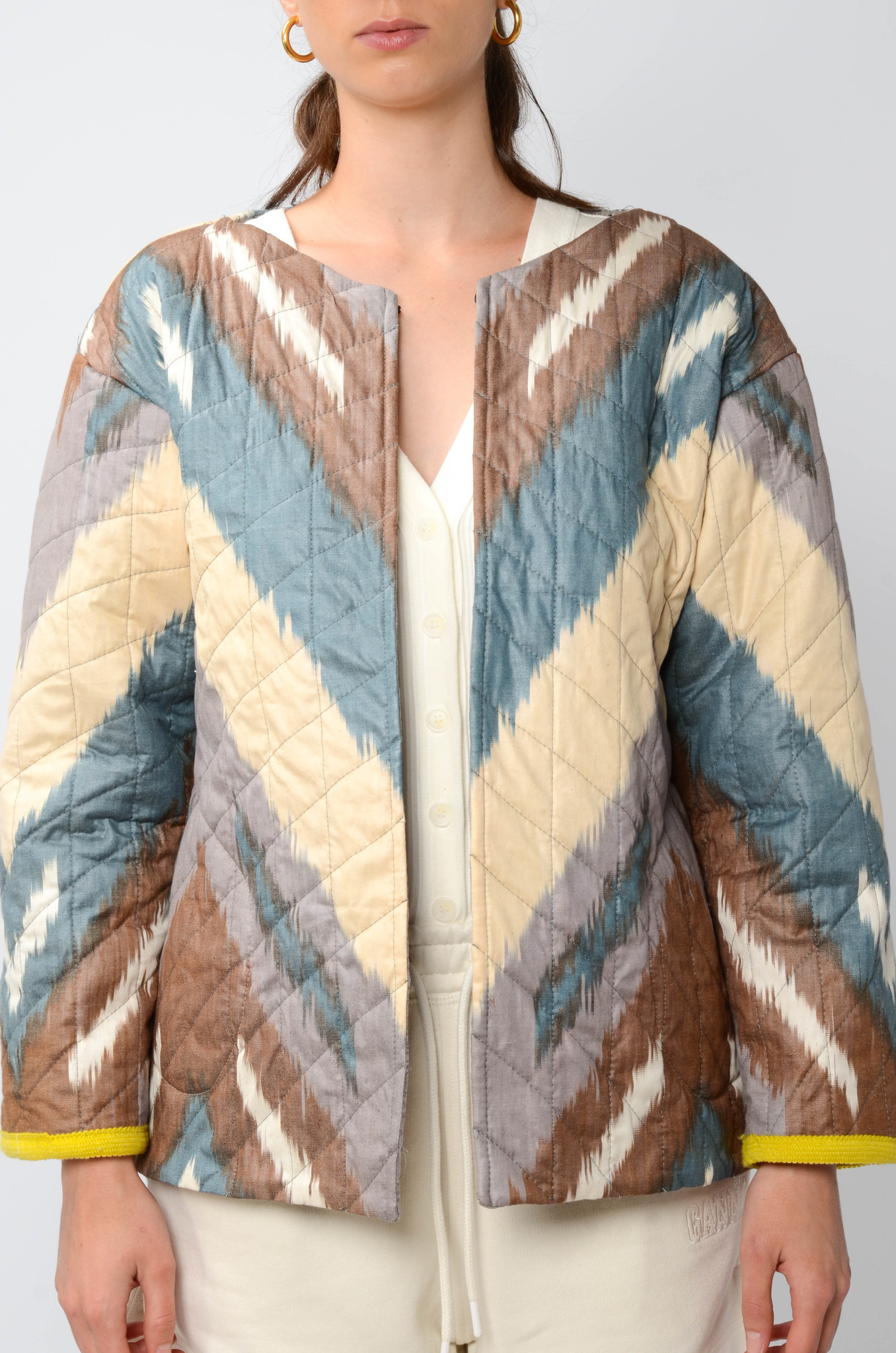 IKAT JACKET WITH SLEEVES-1