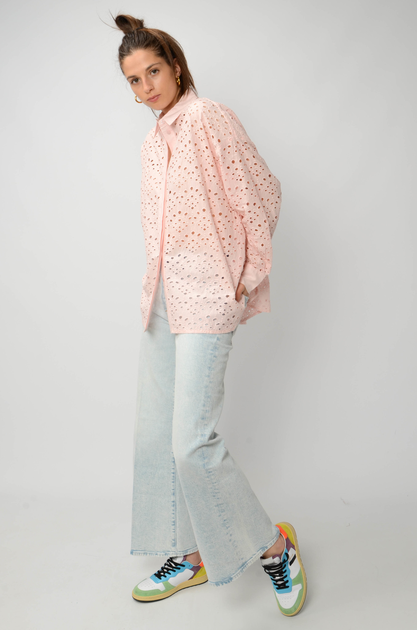 WOODY SHIRT IN PINK-2