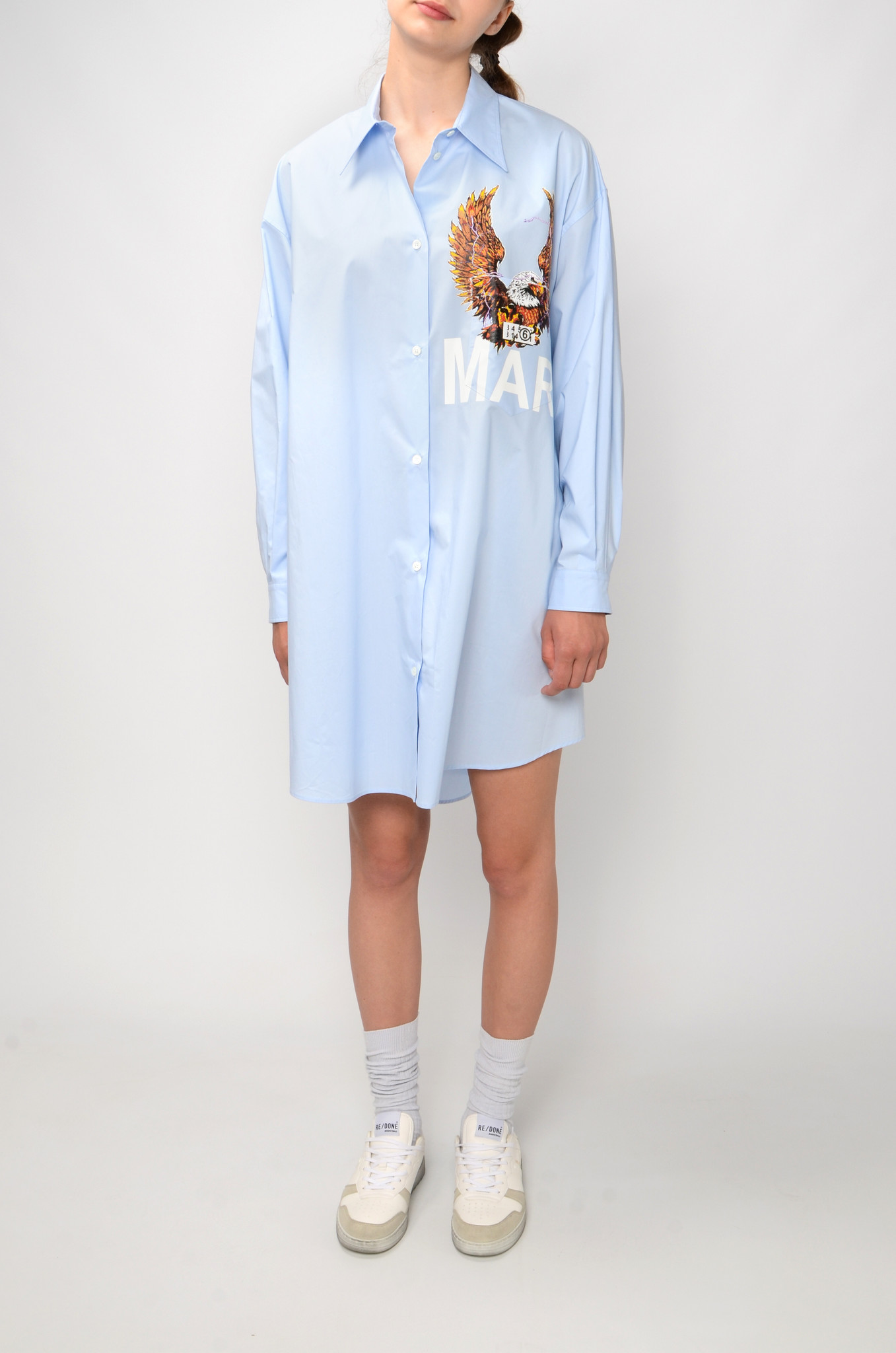 EAGLE SHIRT DRESS-1