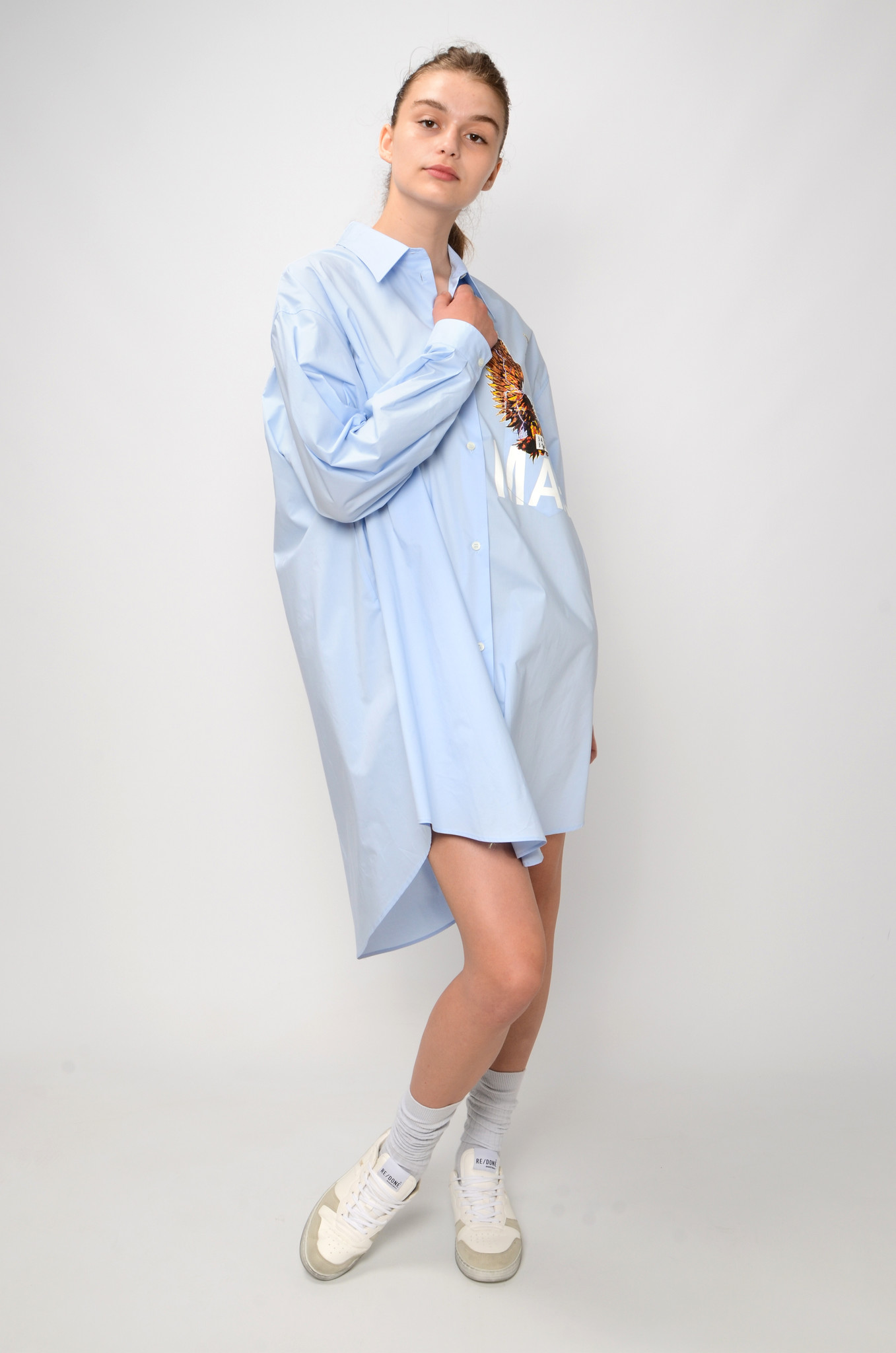 EAGLE SHIRT DRESS-2