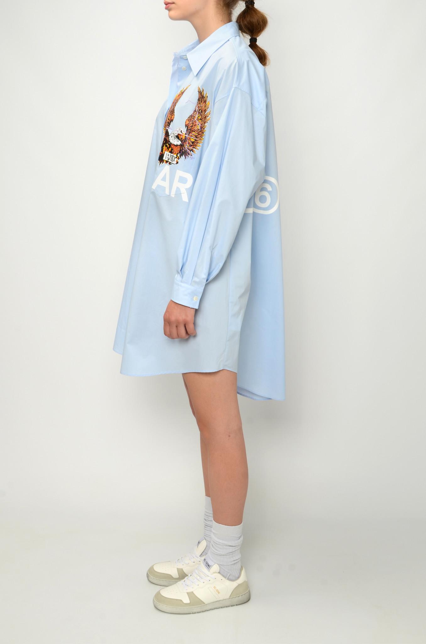 EAGLE SHIRT DRESS-3