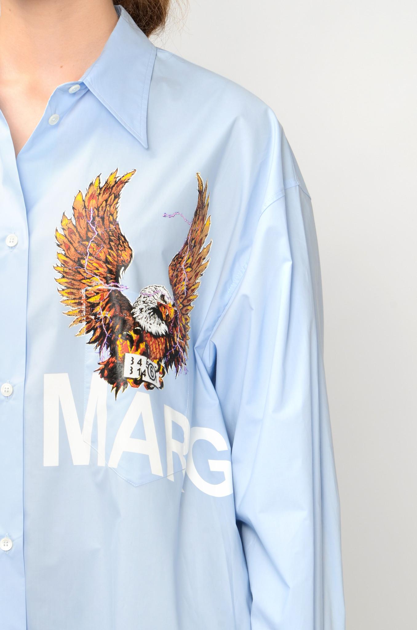 EAGLE SHIRT DRESS-5