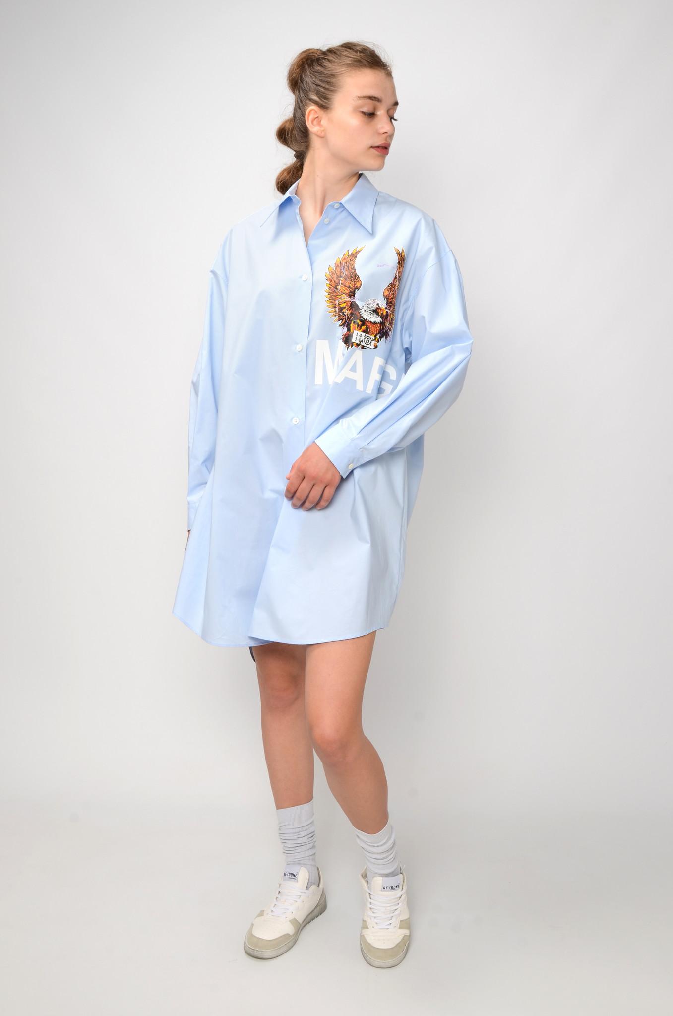 EAGLE SHIRT DRESS-6