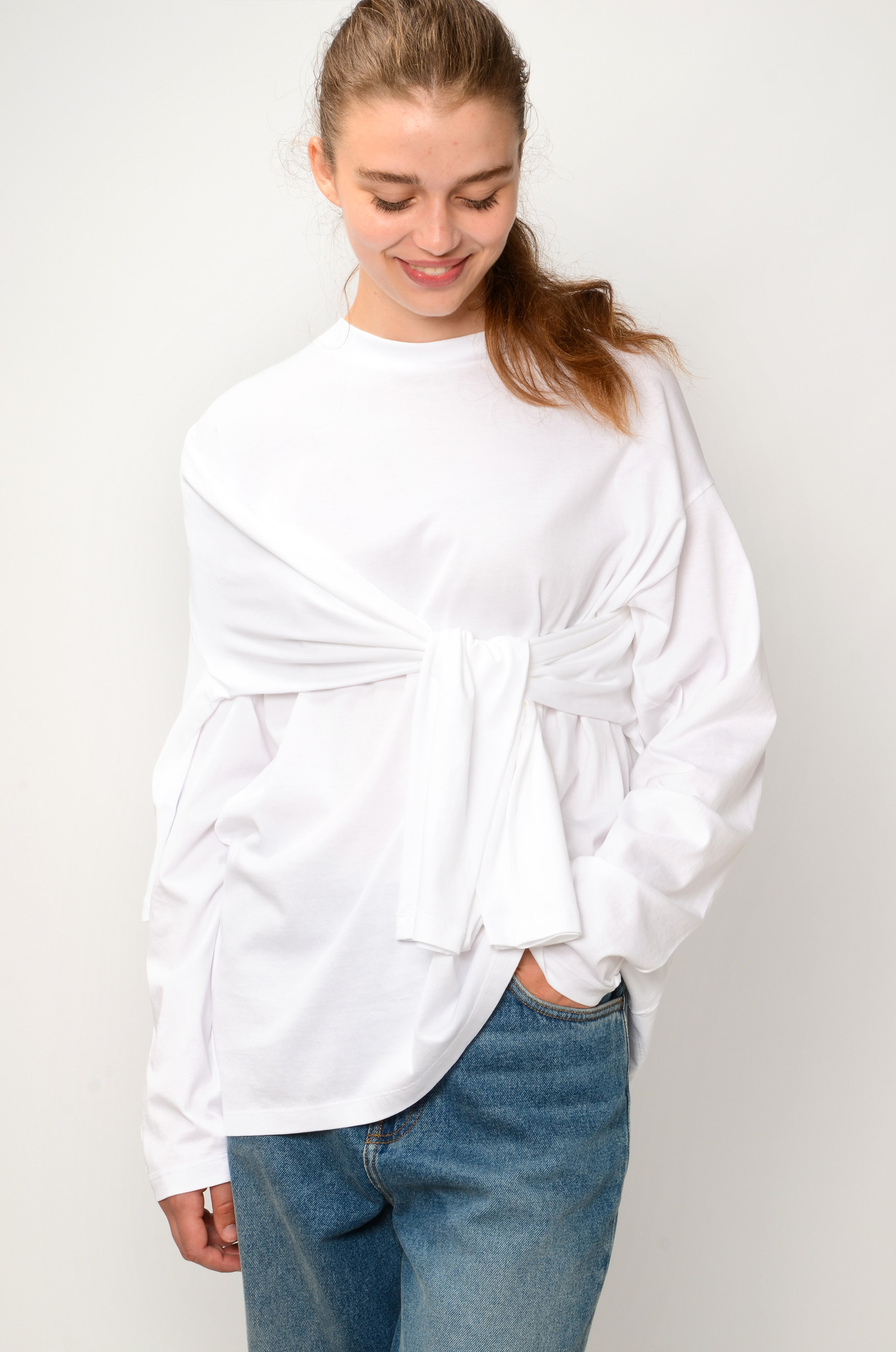 DOUBLE TOP IN WHITE-9
