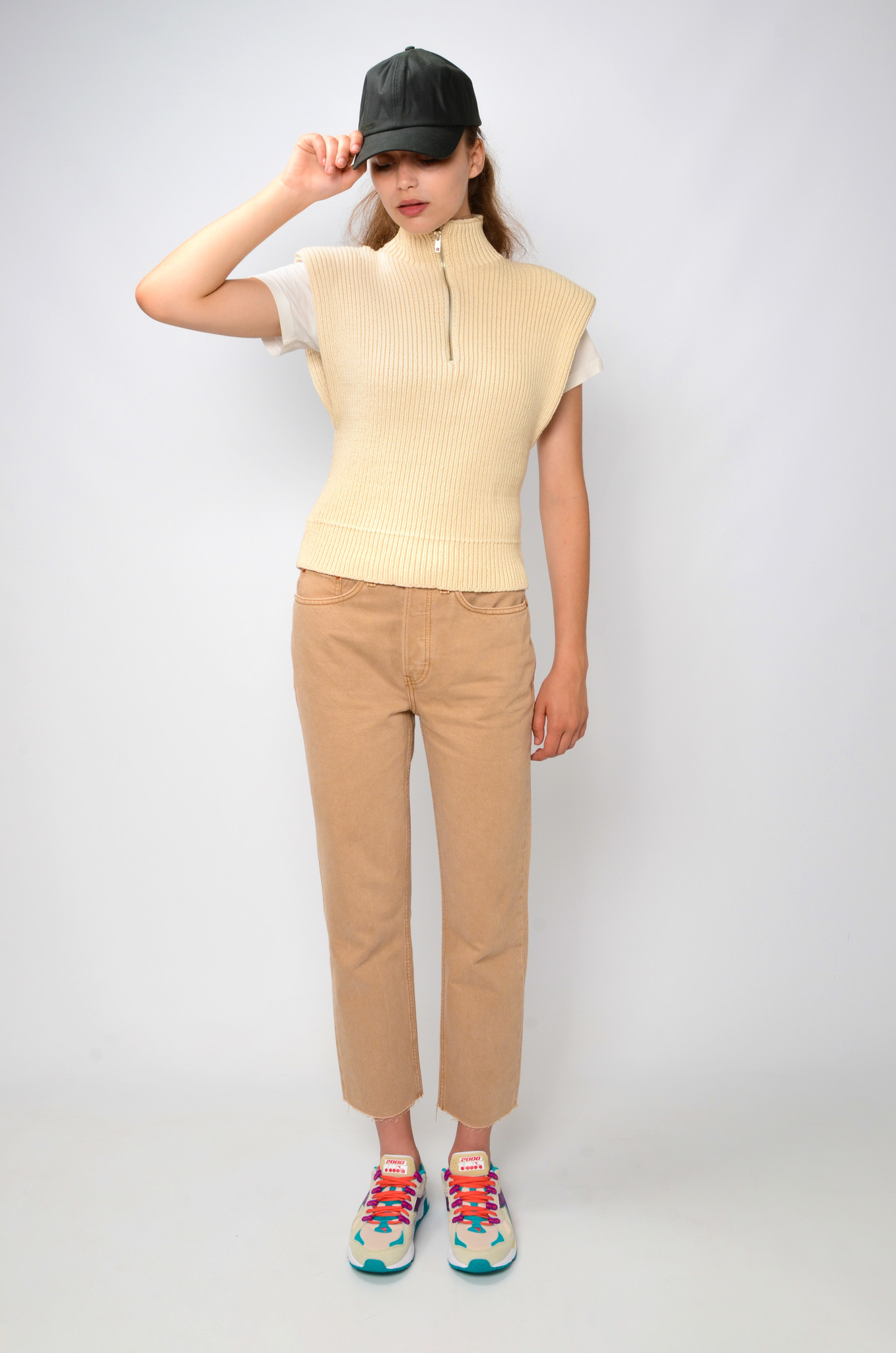 70S STOVE PIPE IN WASHED KHAKI-2