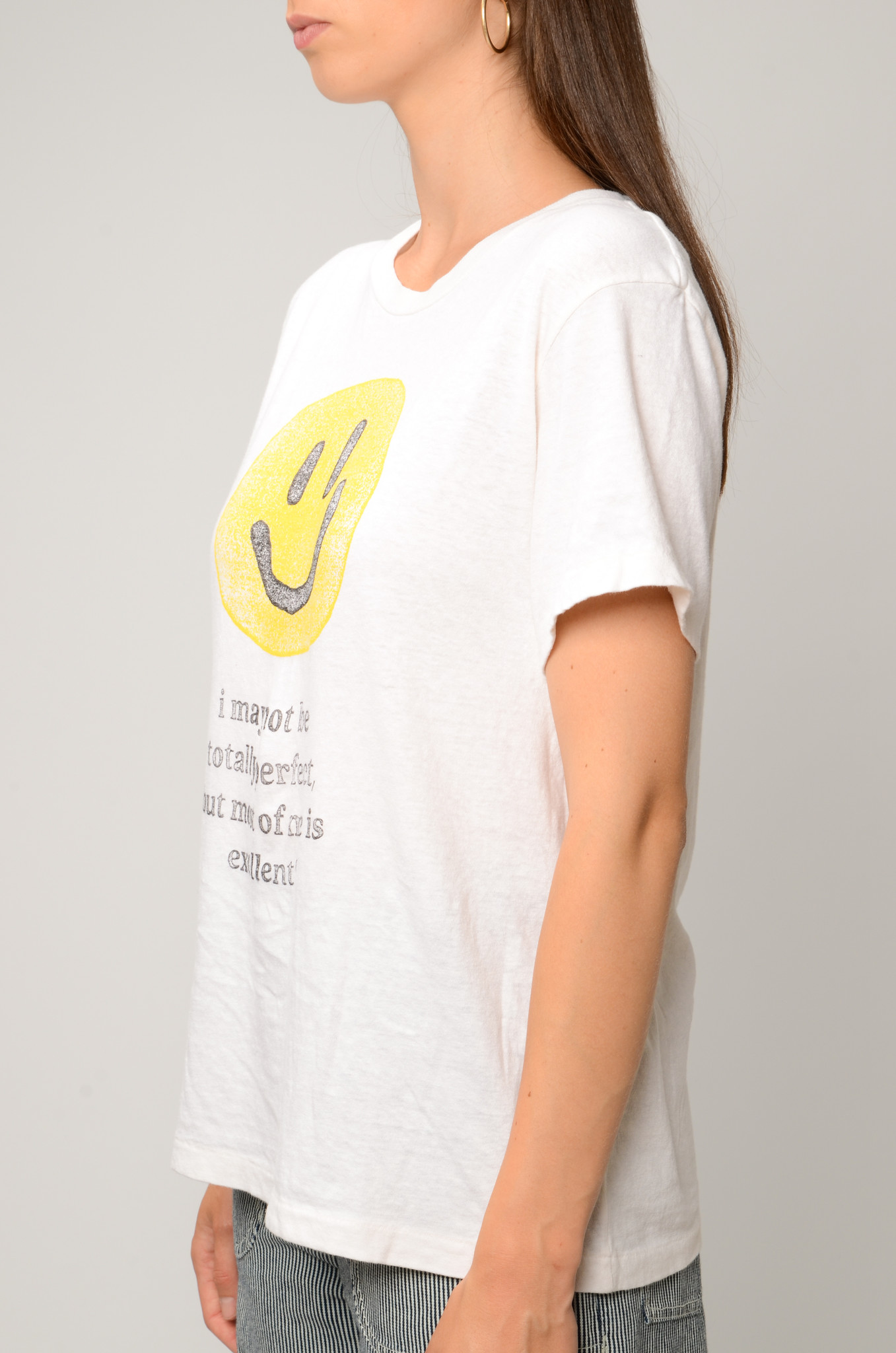 LOOSE EXCELLENT SMILEY TEE-3