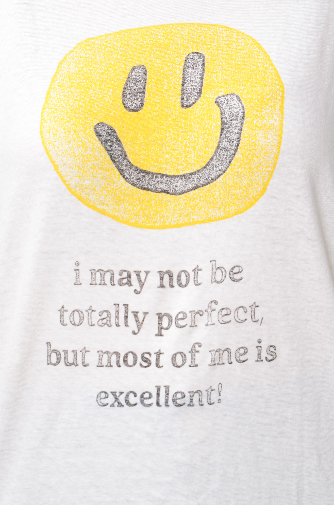 LOOSE EXCELLENT SMILEY TEE-5