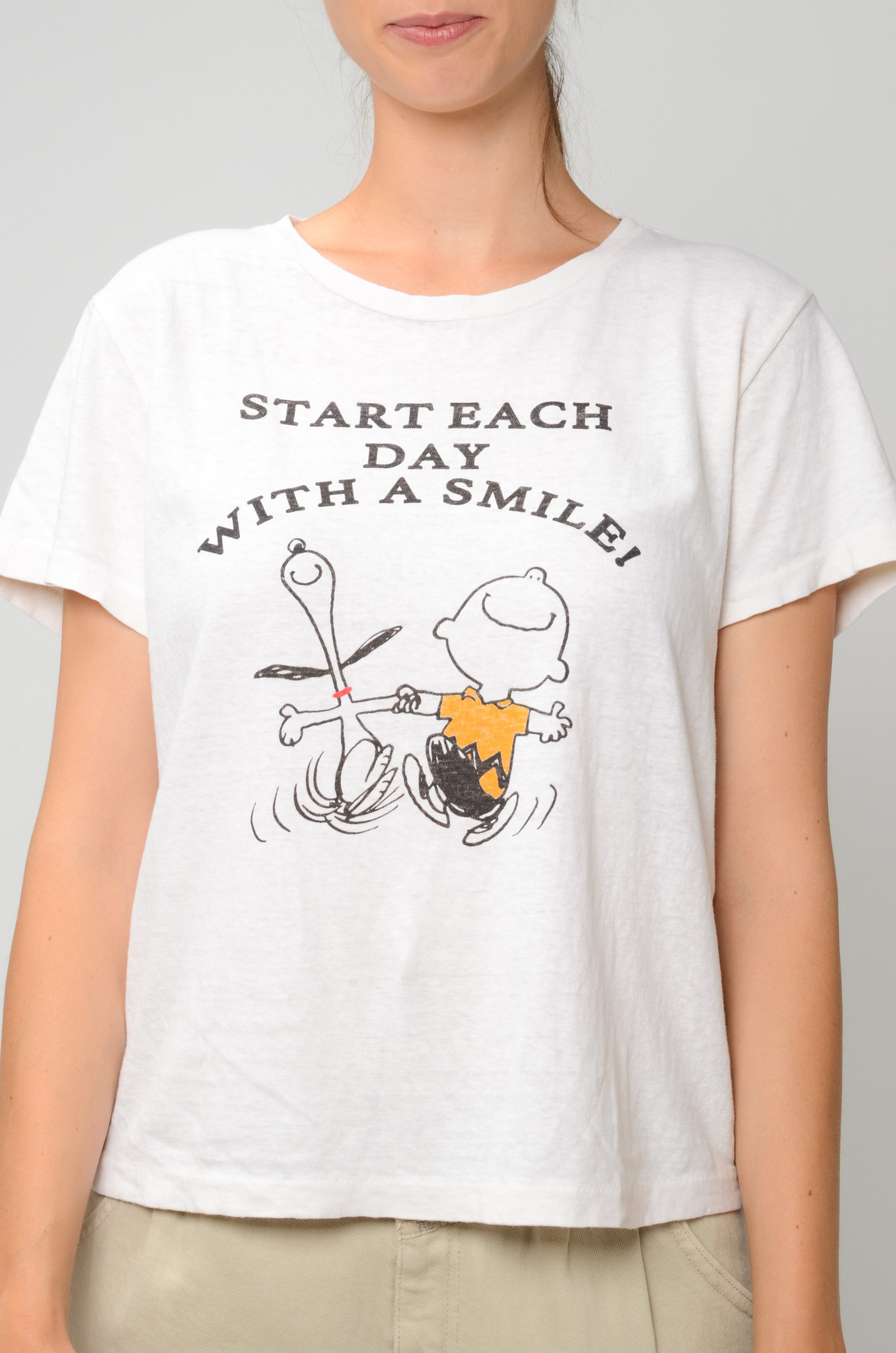 CLASSIC TEE WITH A SMILE-1