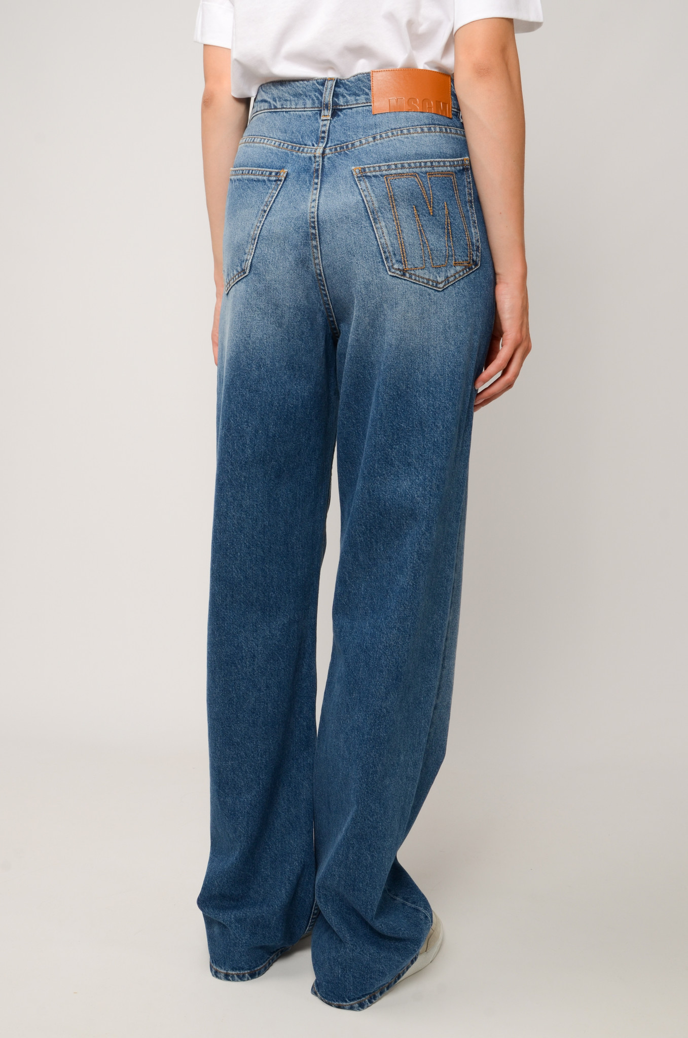 HIGH RISE STRAIGHT JEANS-5
