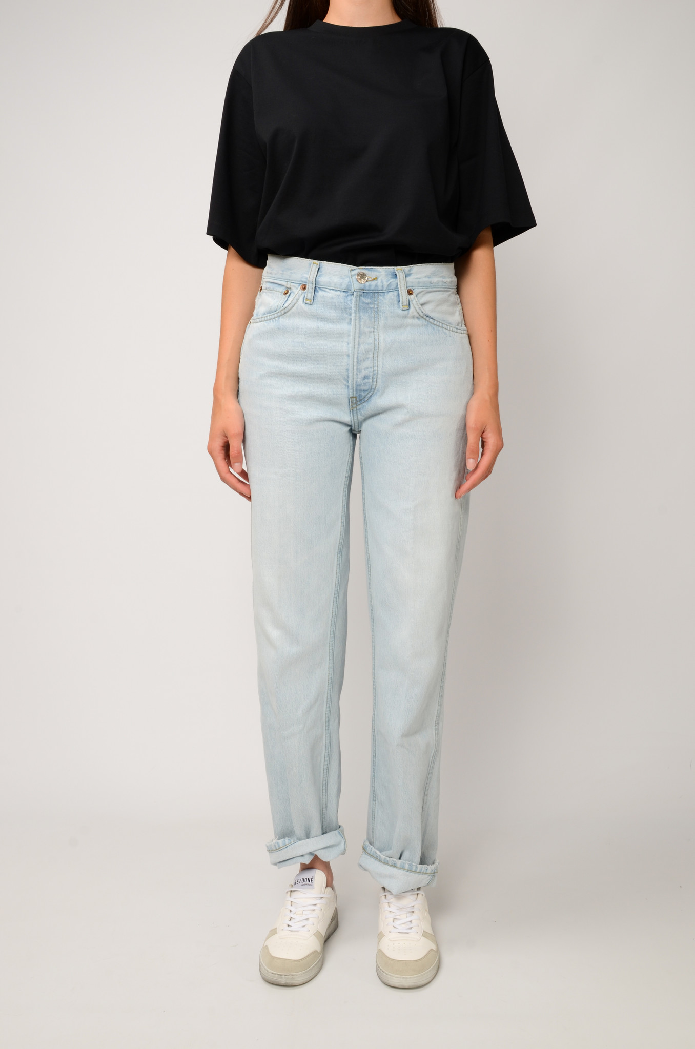 90S HIGH RISE JEANS-1