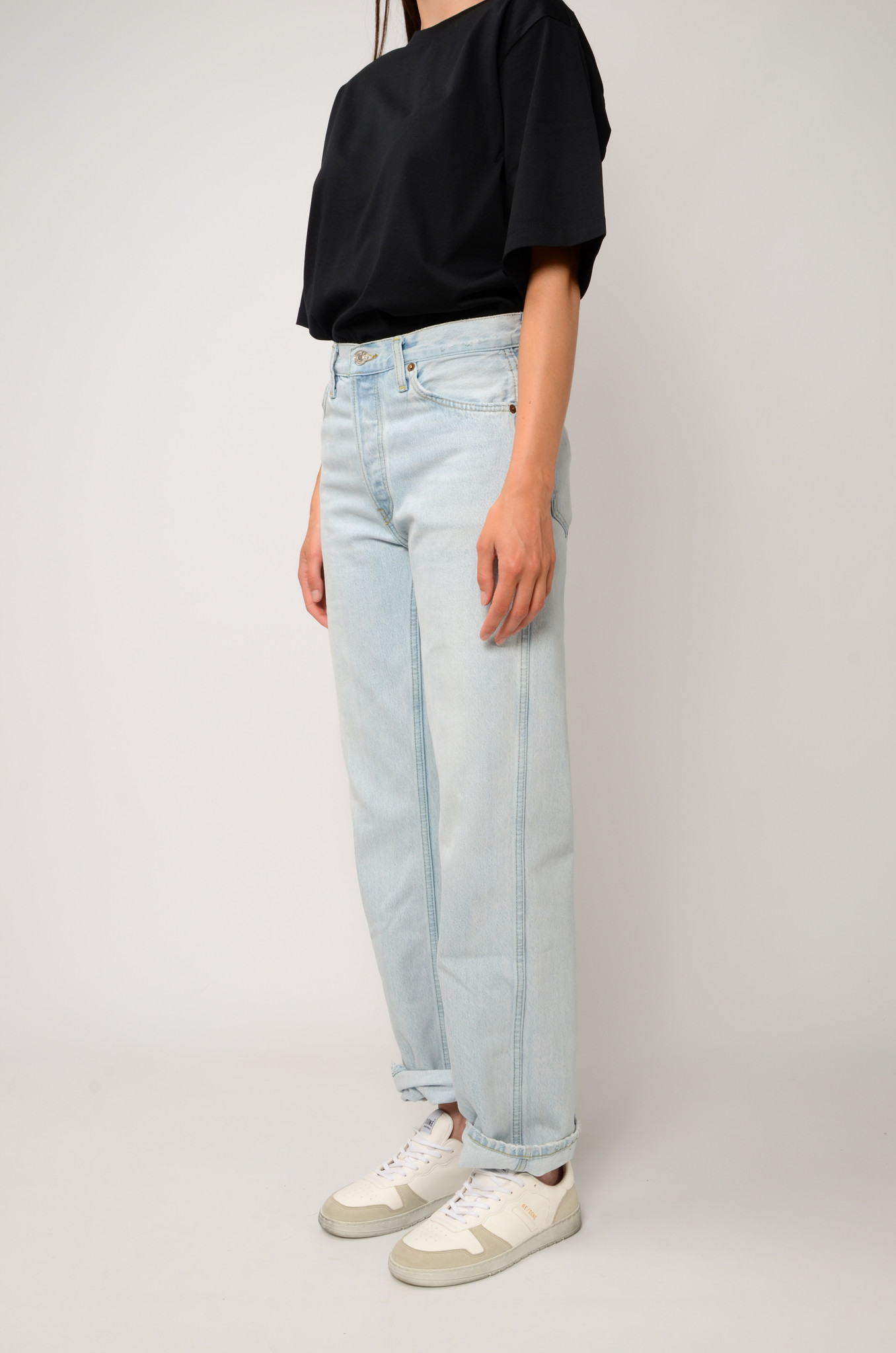 90S HIGH RISE JEANS-3