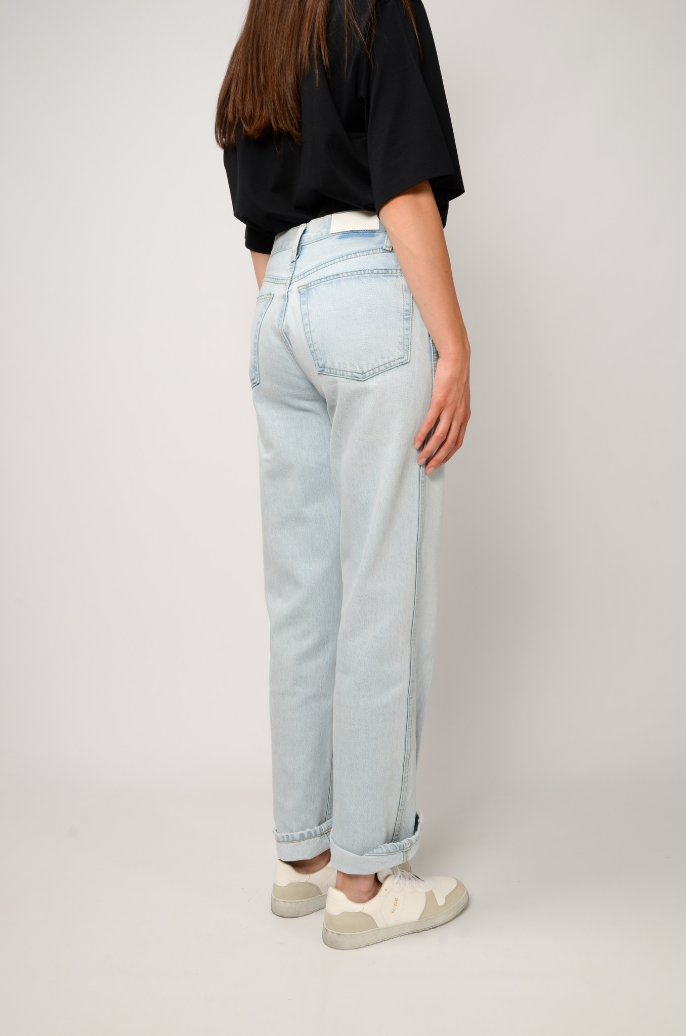 90S HIGH RISE JEANS-4