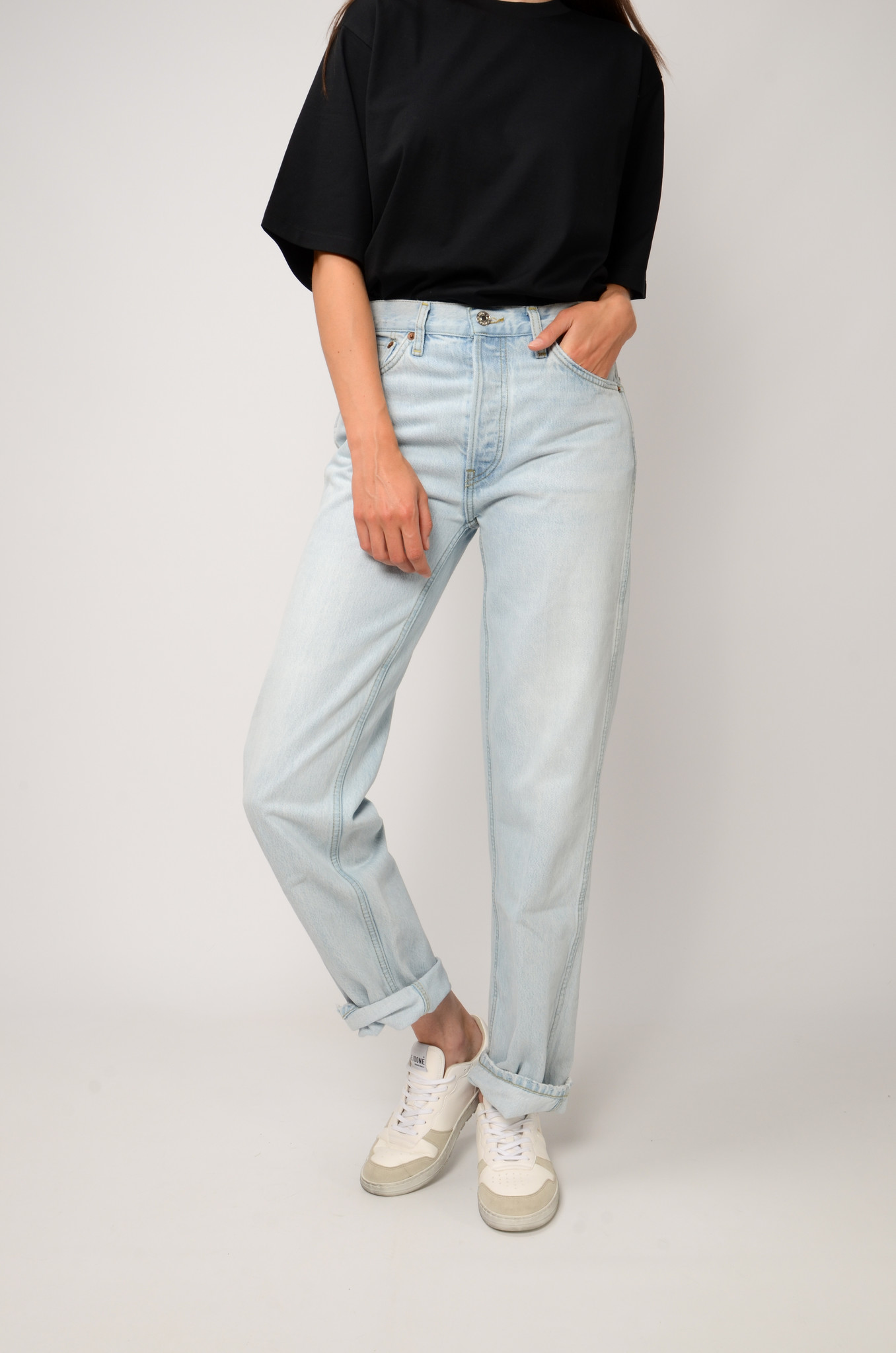 90S HIGH RISE JEANS-5