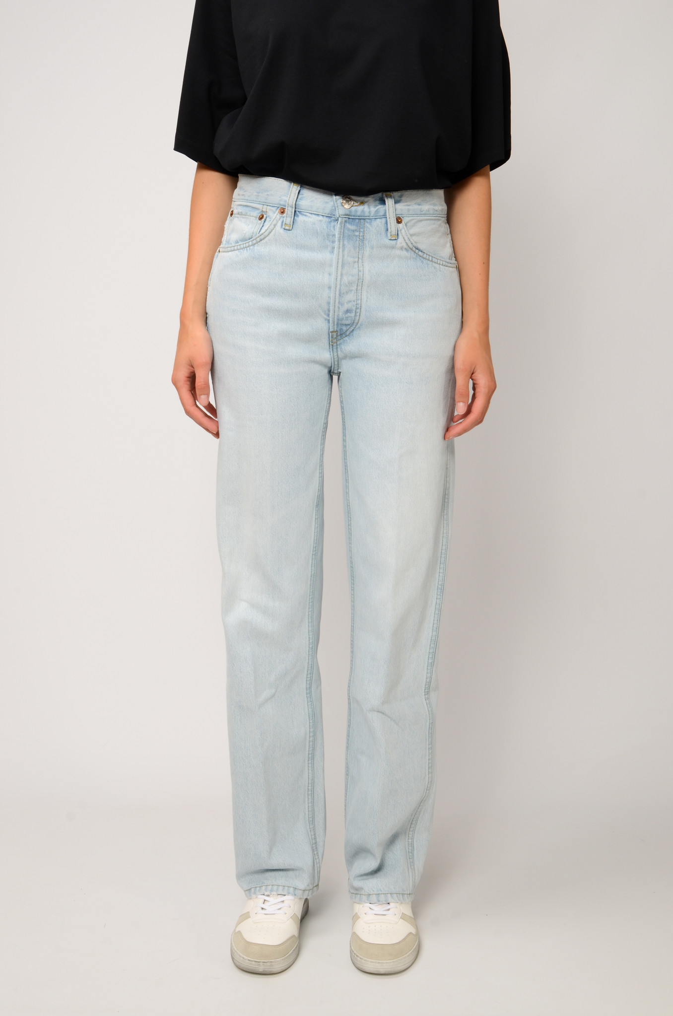 90S HIGH RISE JEANS-6