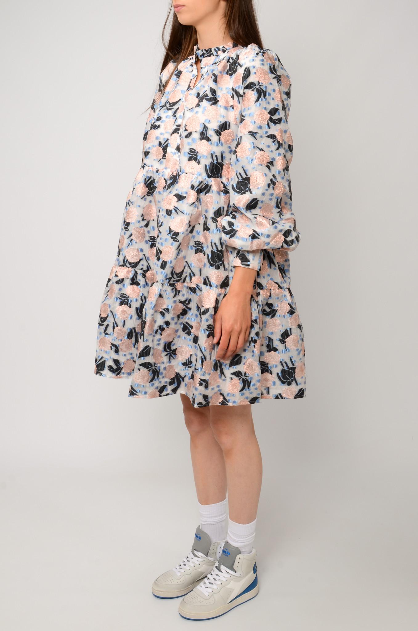 FLORAL ORGANZA DRESS-3