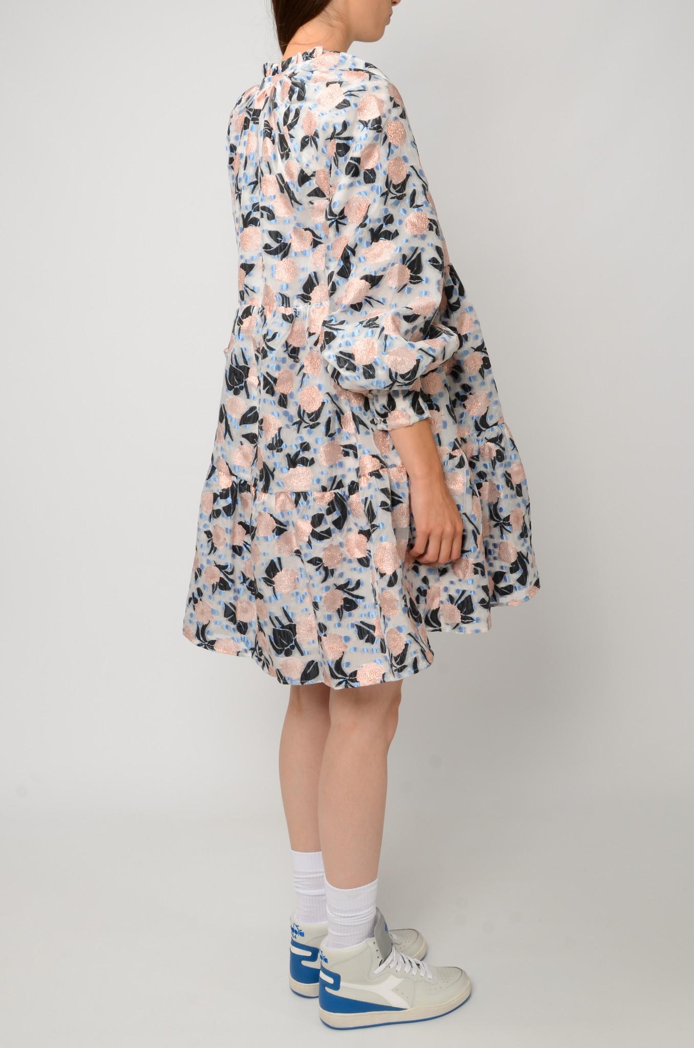 FLORAL ORGANZA DRESS-4