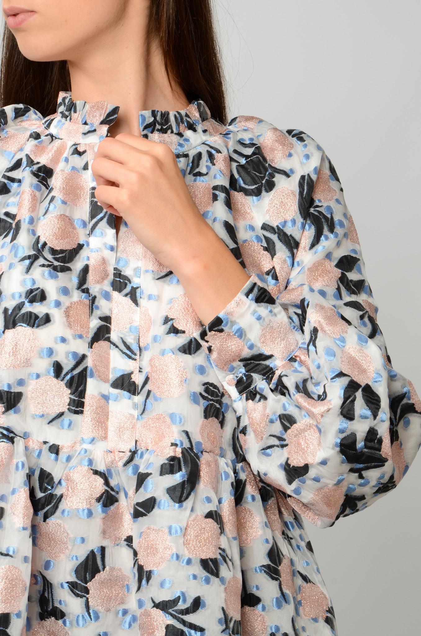 FLORAL ORGANZA DRESS-5