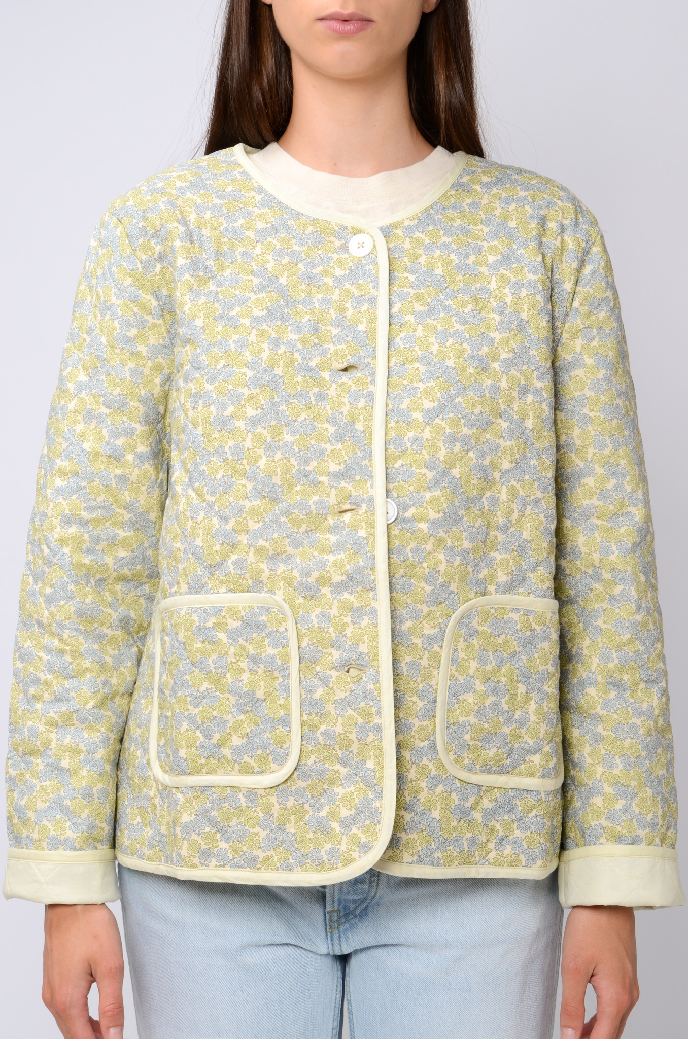 QUILTED FLOWER JACKET-1