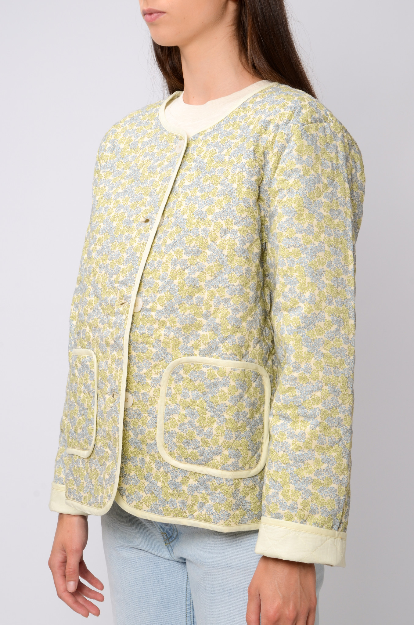 QUILTED FLOWER JACKET-3