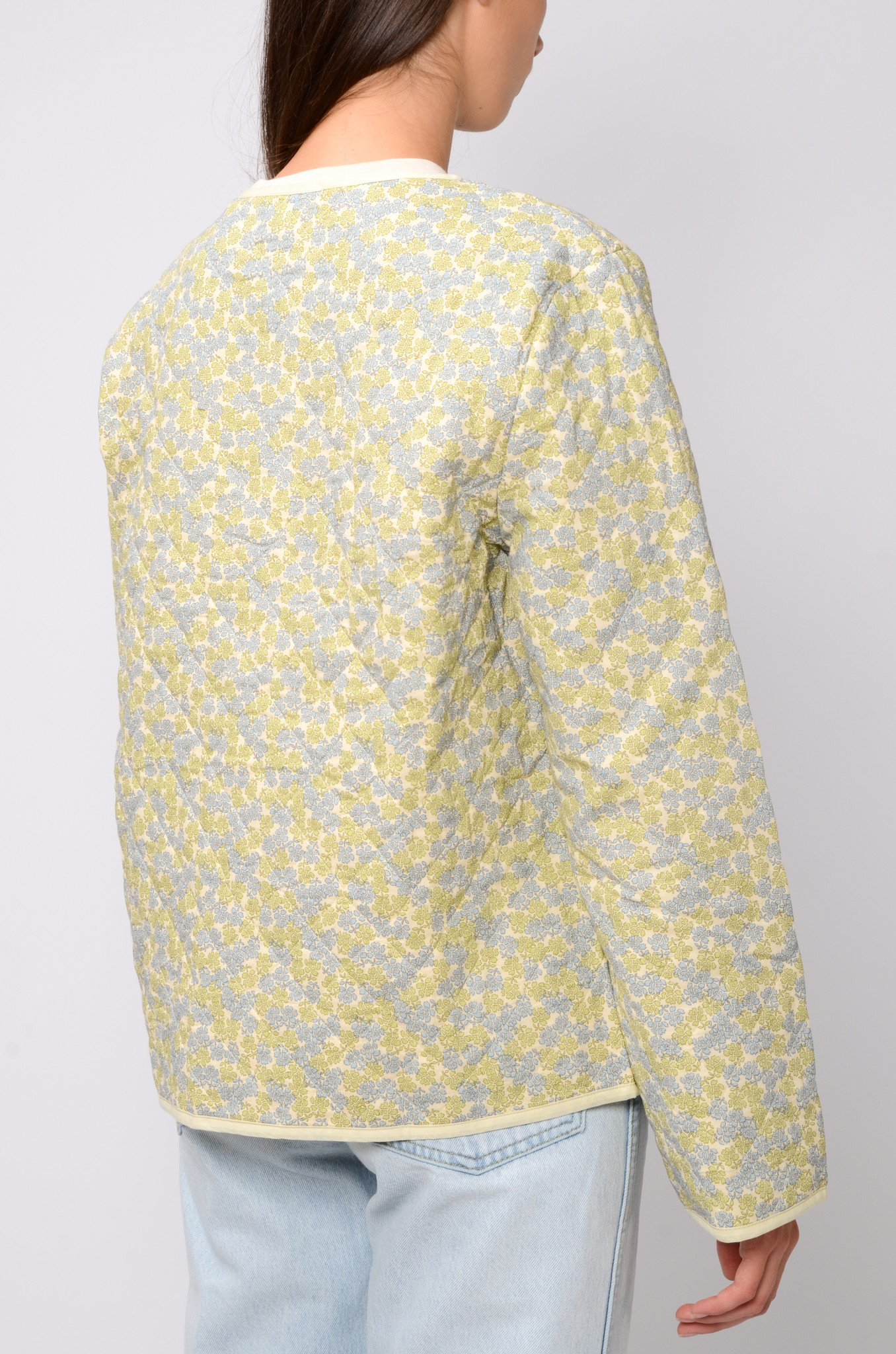 QUILTED FLOWER JACKET-4