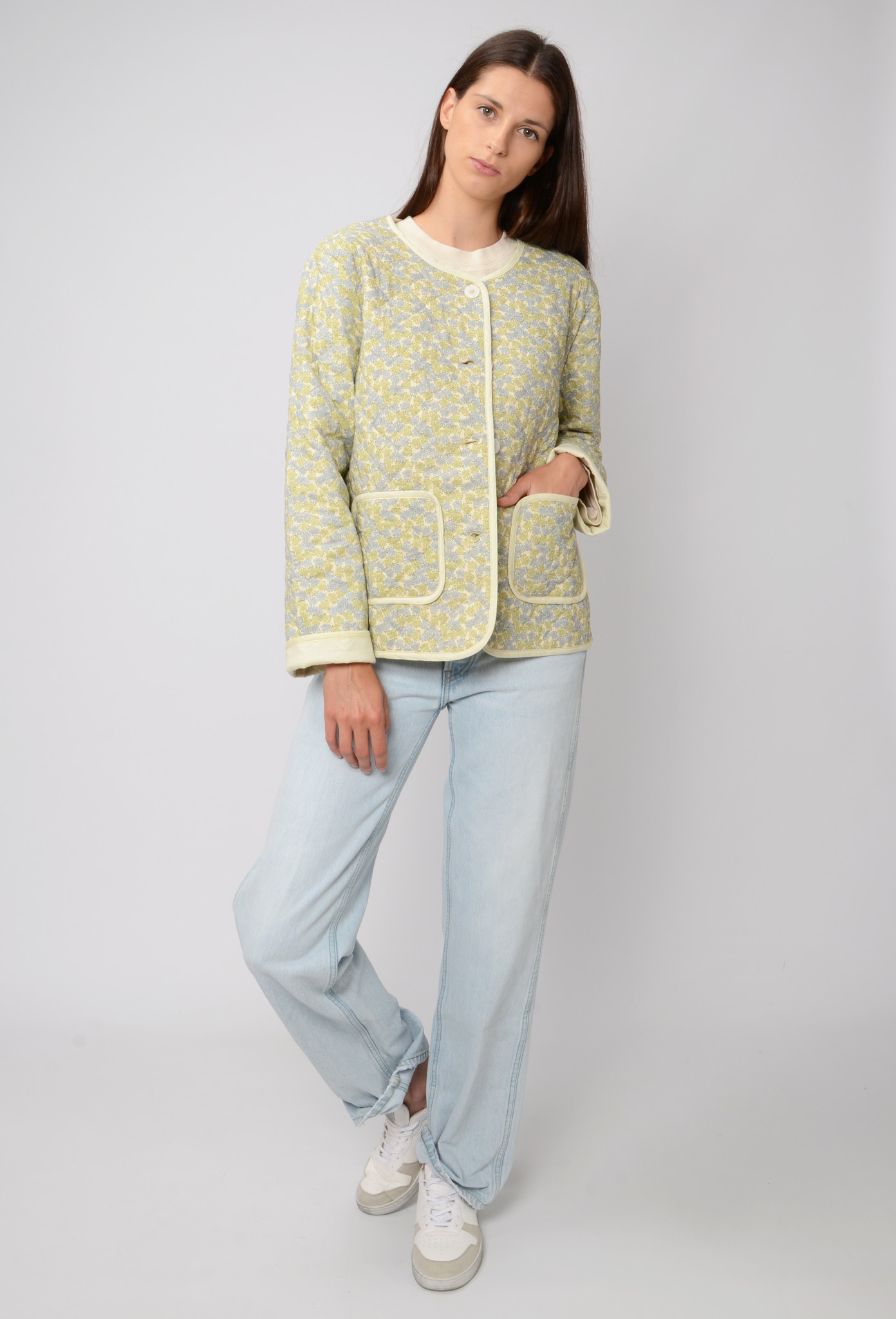 QUILTED FLOWER JACKET-2
