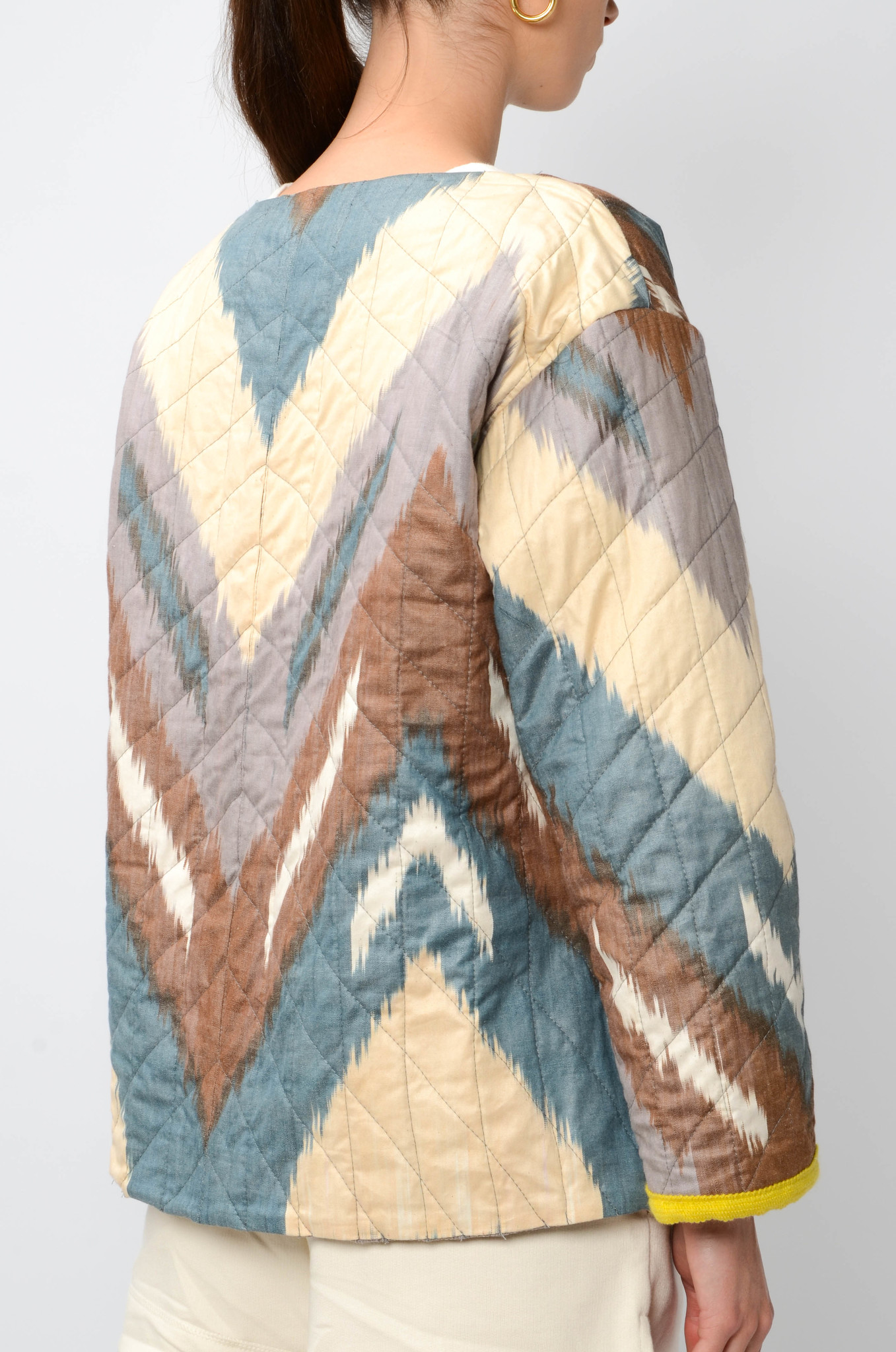 IKAT JACKET WITH SLEEVES-4