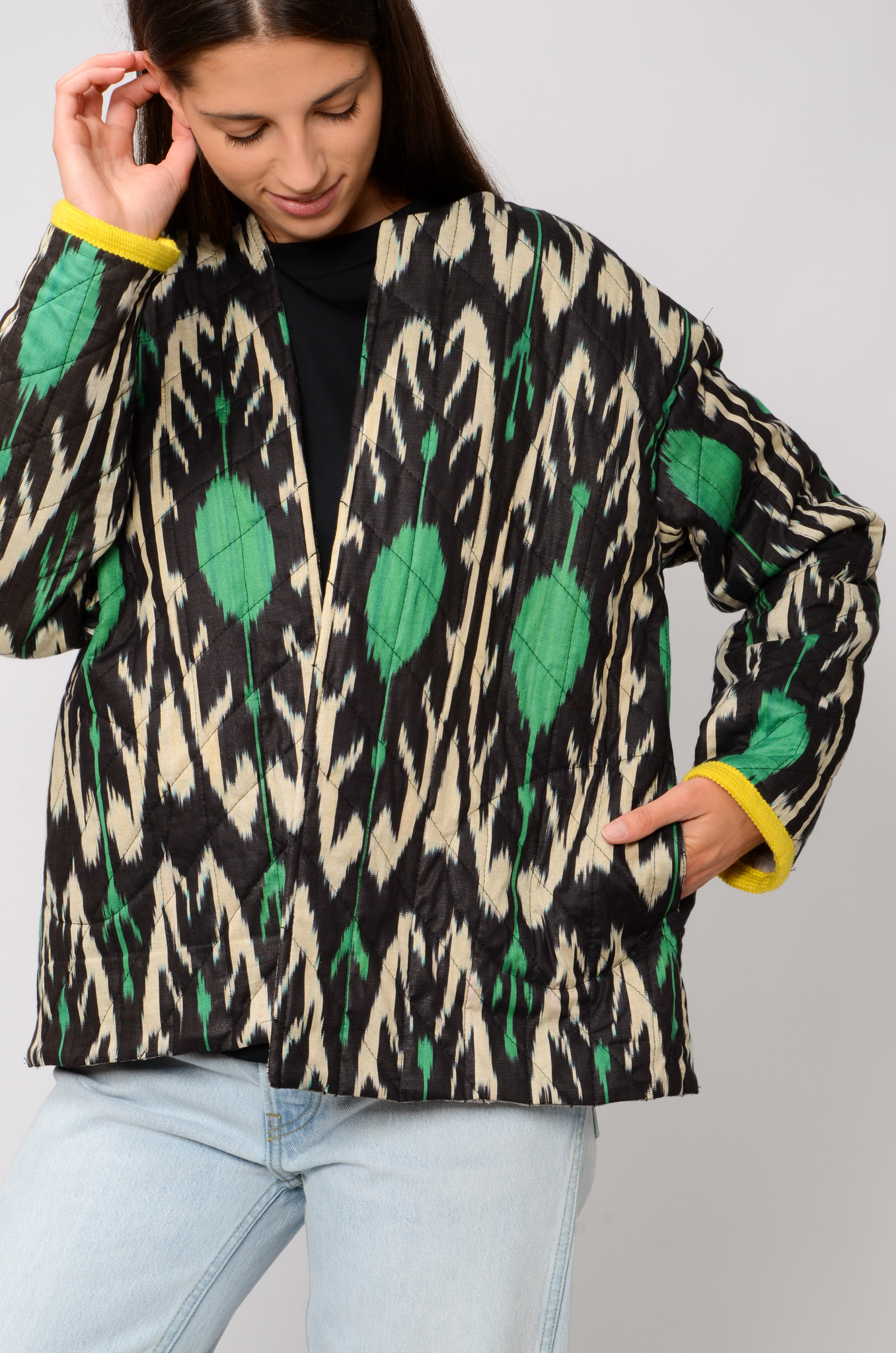 IKAT JACKET WITH SLEEVES-6