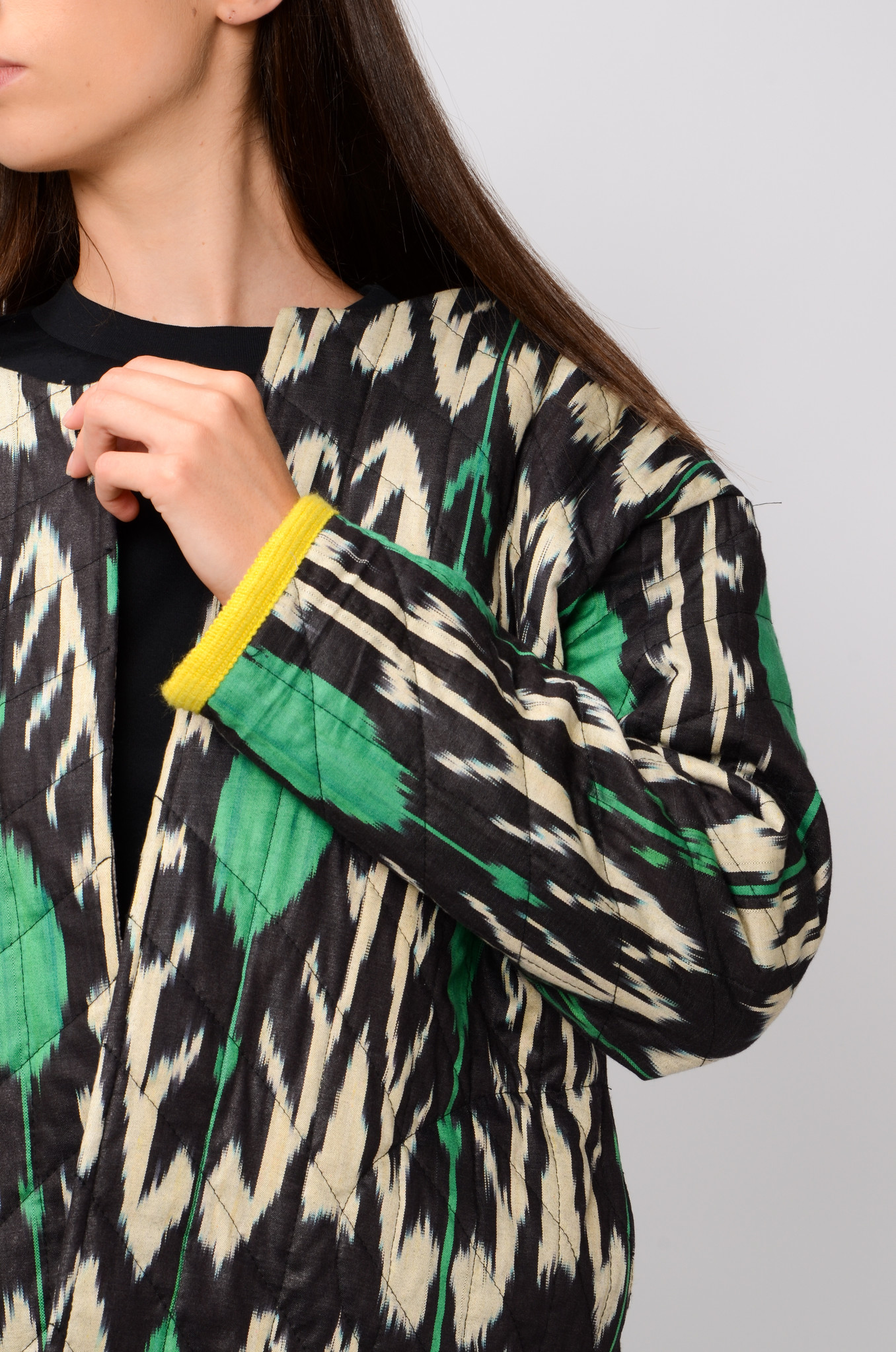 IKAT JACKET WITH SLEEVES-5