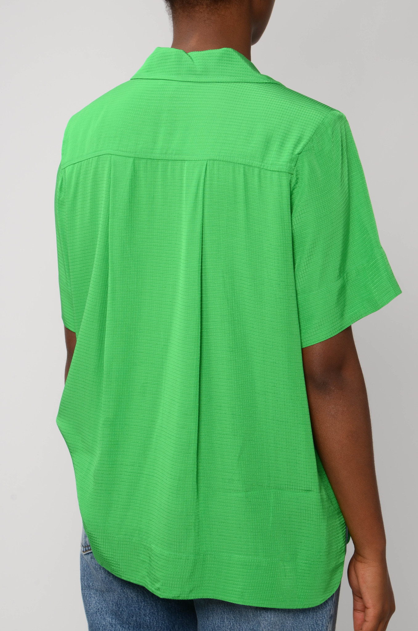 RIPSTOP SHIRT IN KELLY GREEN-4