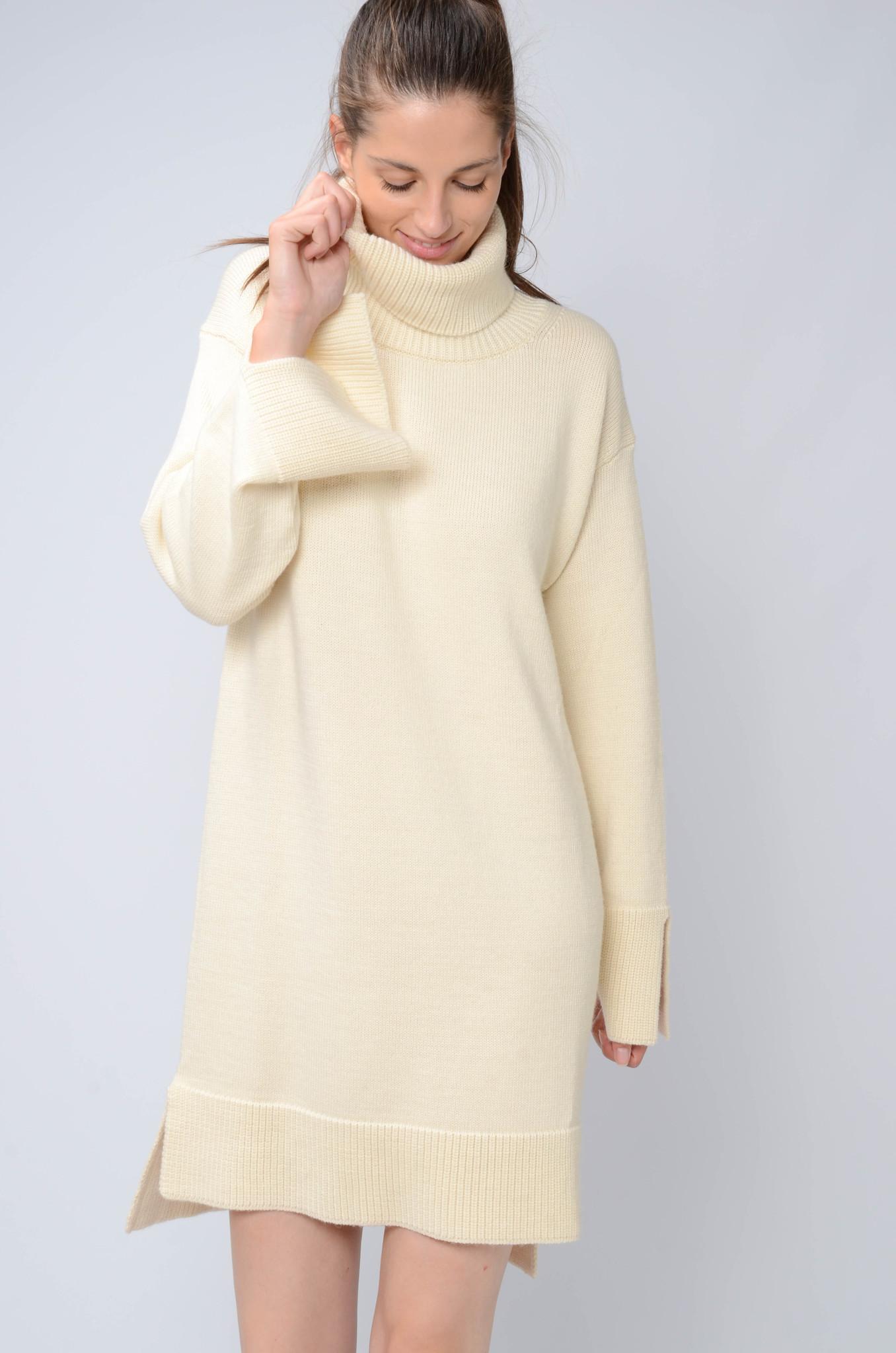 KNITTED TUNIC DRESS-5