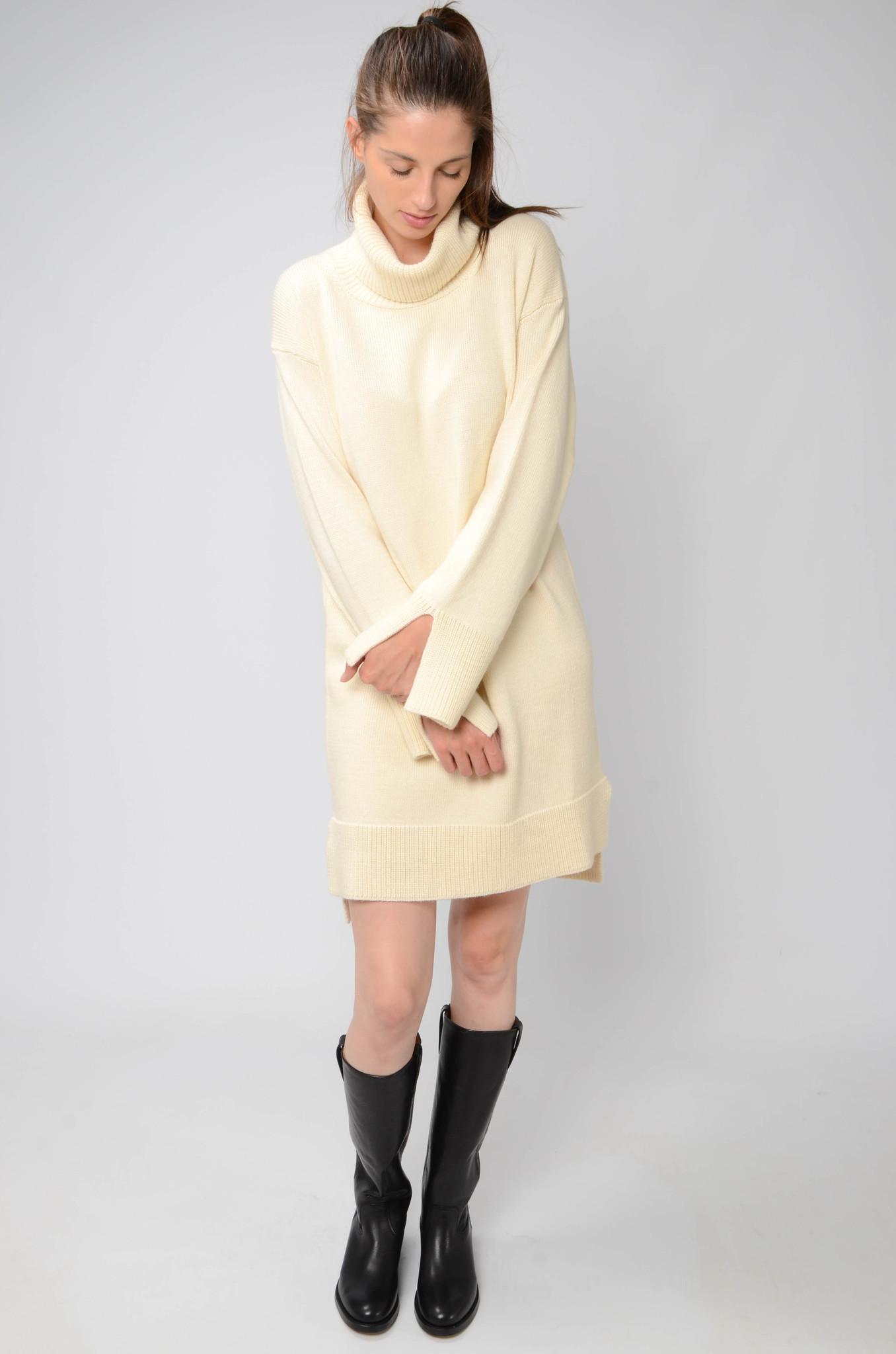 KNITTED TUNIC DRESS-2