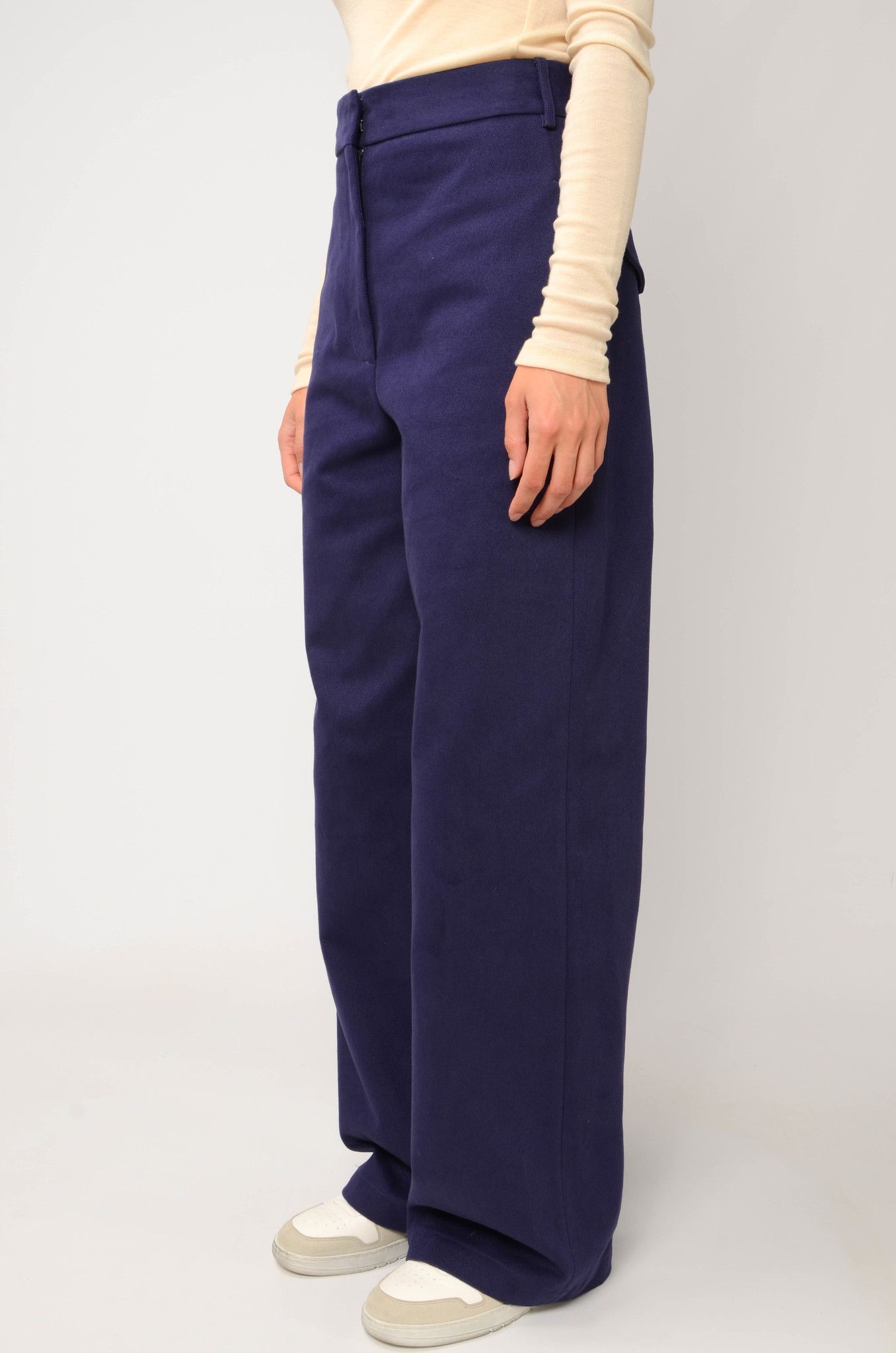 ANNIE TROUSERS IN NAVY BLUE-3