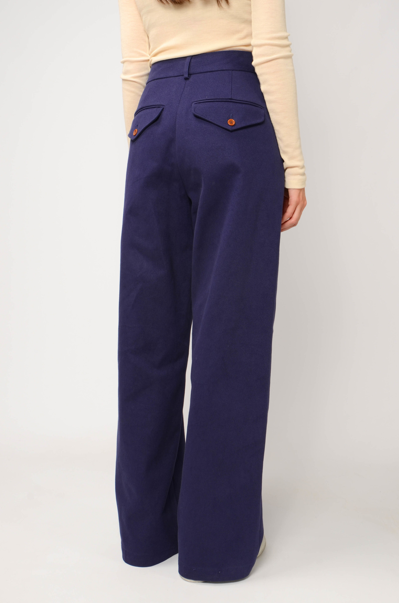 ANNIE TROUSERS IN NAVY BLUE-4