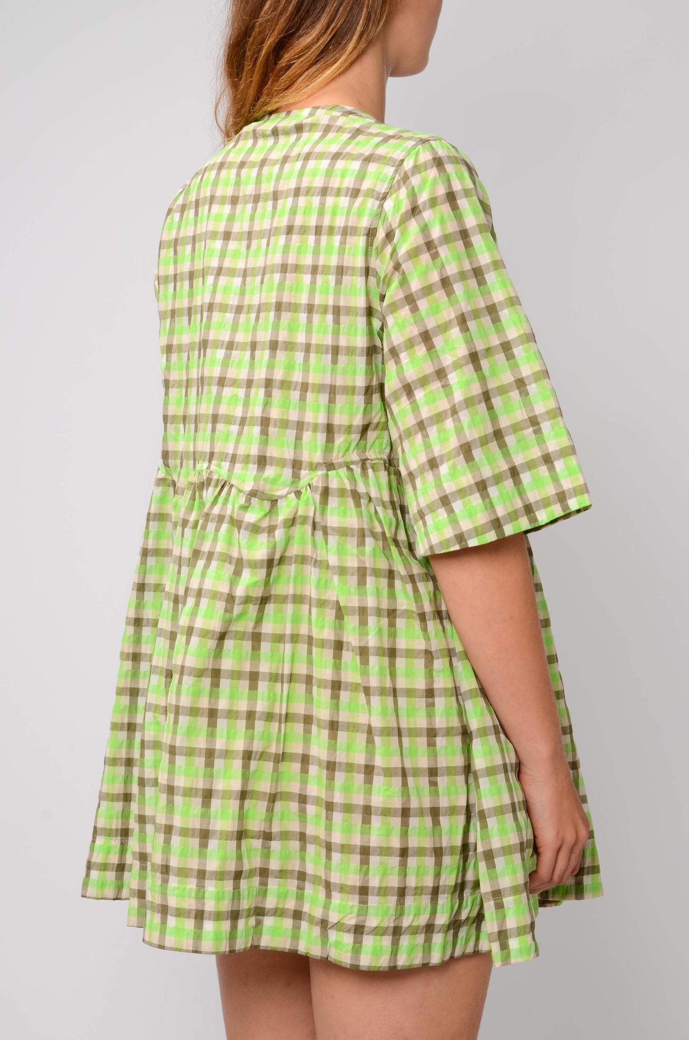 SEERSUCKER BABYDOLL DRESS-4